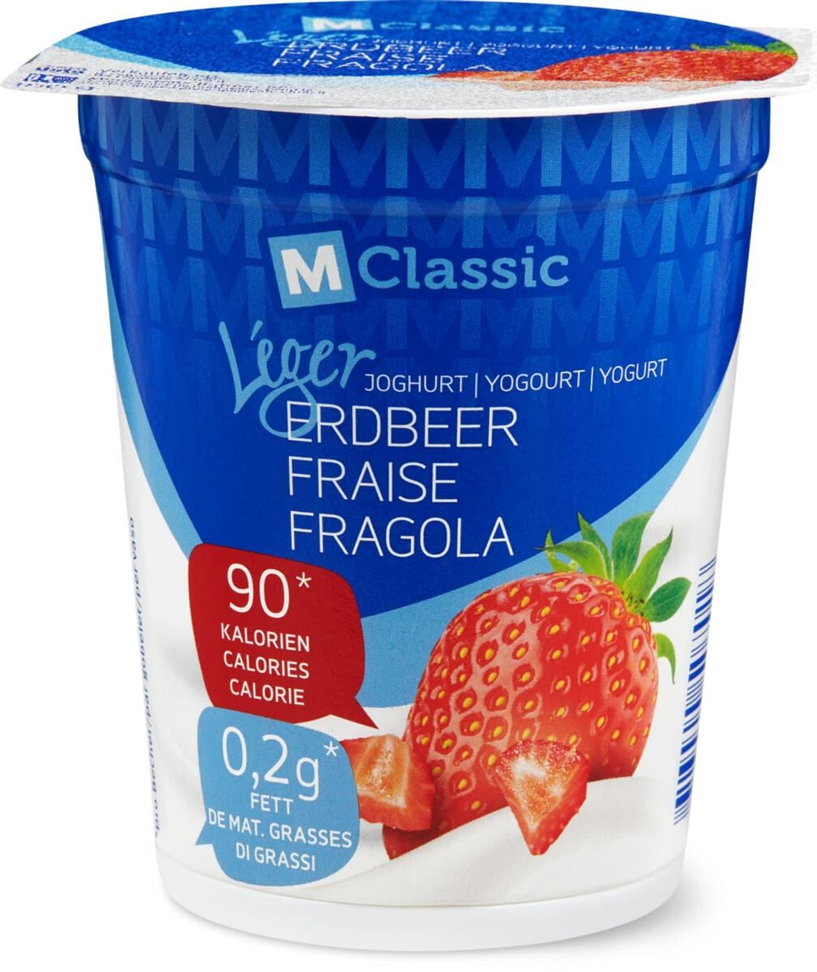 M Classic Joghurt Erdbeer léger