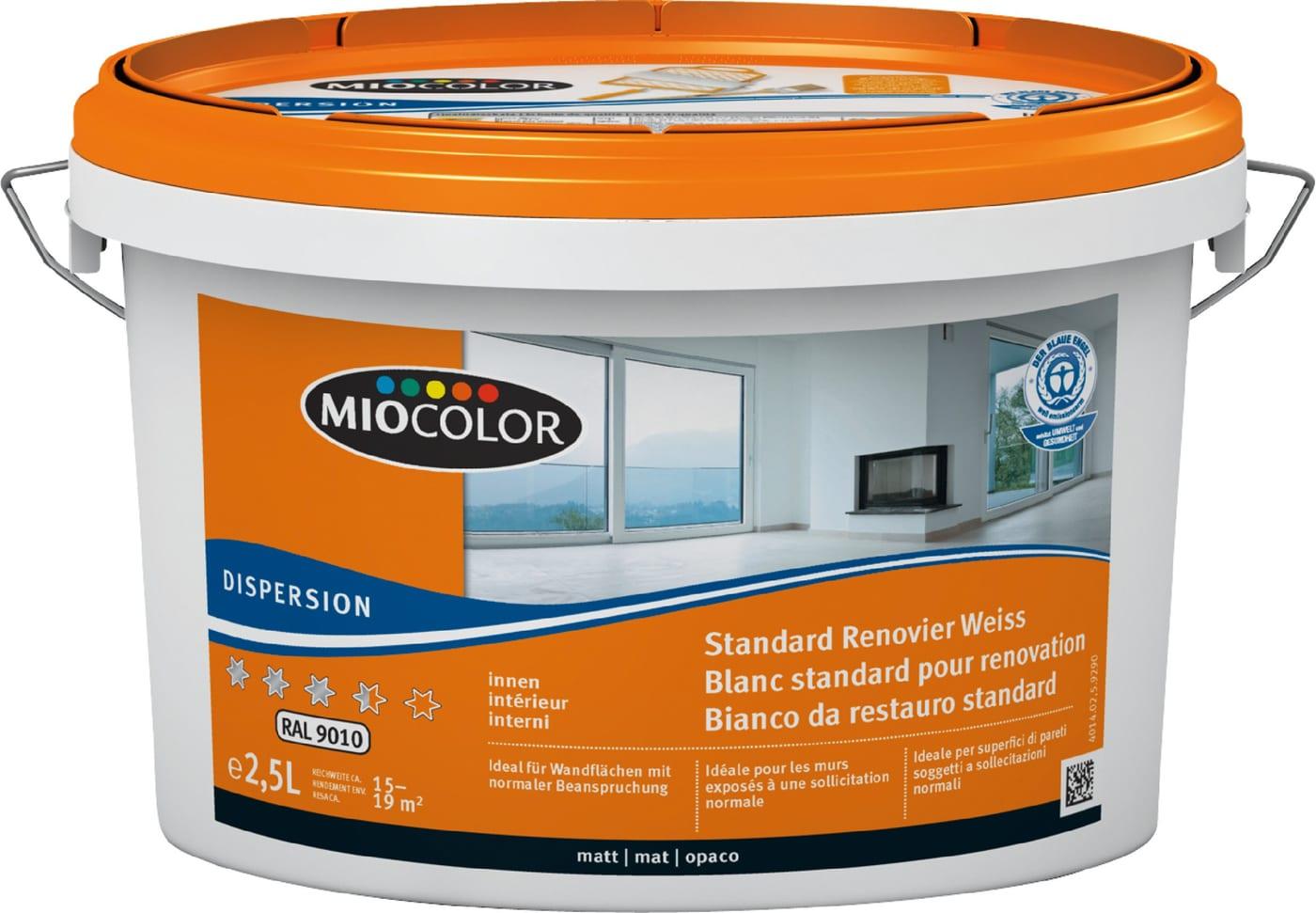 miocolor dispersion pour r novation ral 9010 migros. Black Bedroom Furniture Sets. Home Design Ideas
