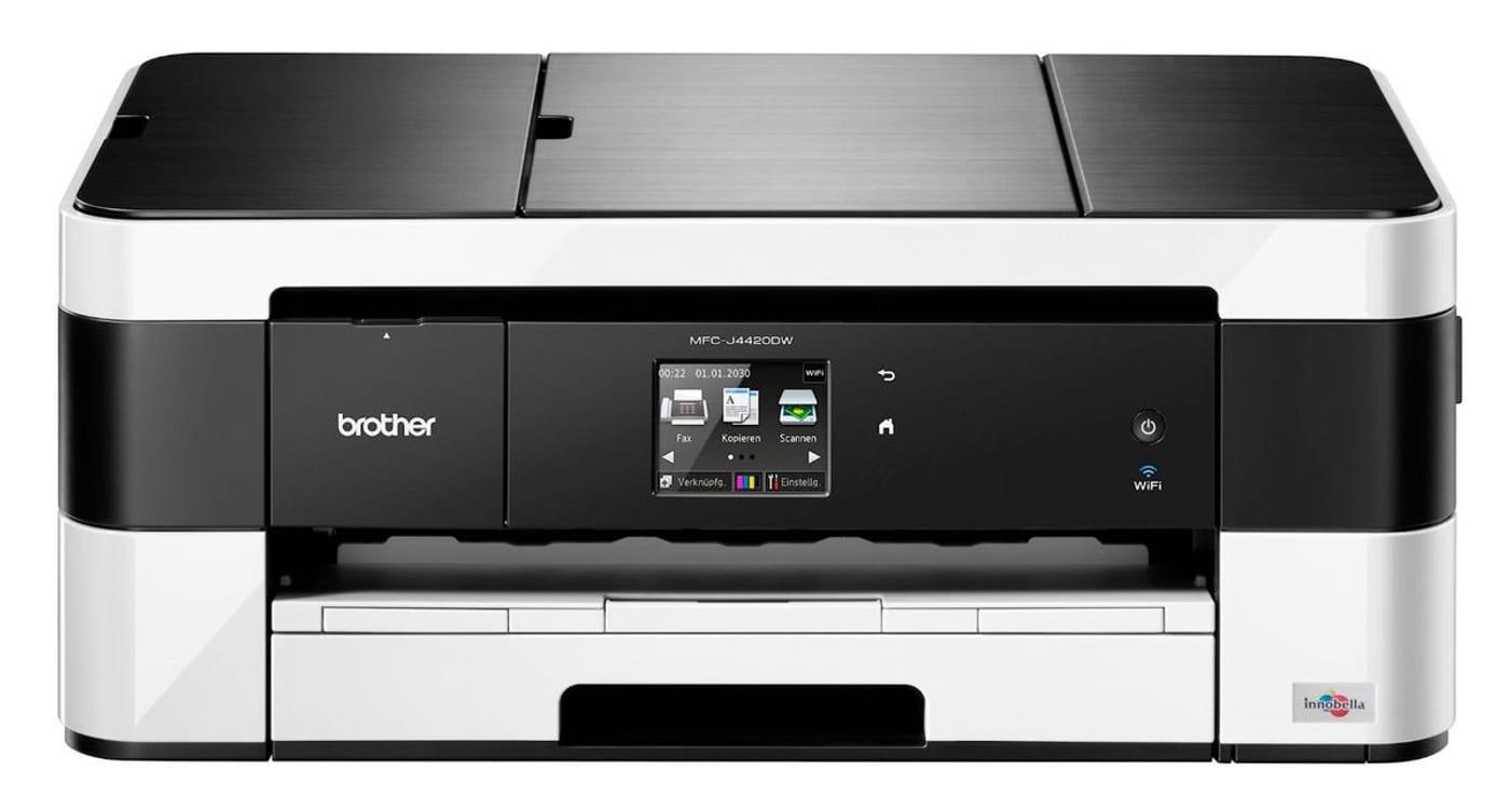 brother mfc j4420dw drucker scanner kopierer fax. Black Bedroom Furniture Sets. Home Design Ideas