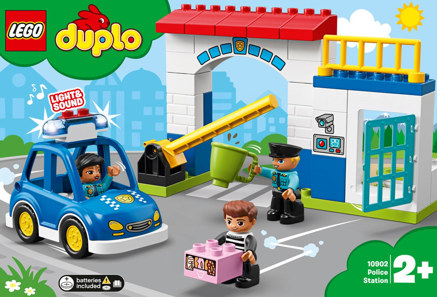 Calendrier Avent Duplo.Migros Lego Duplo 10902 Police Station