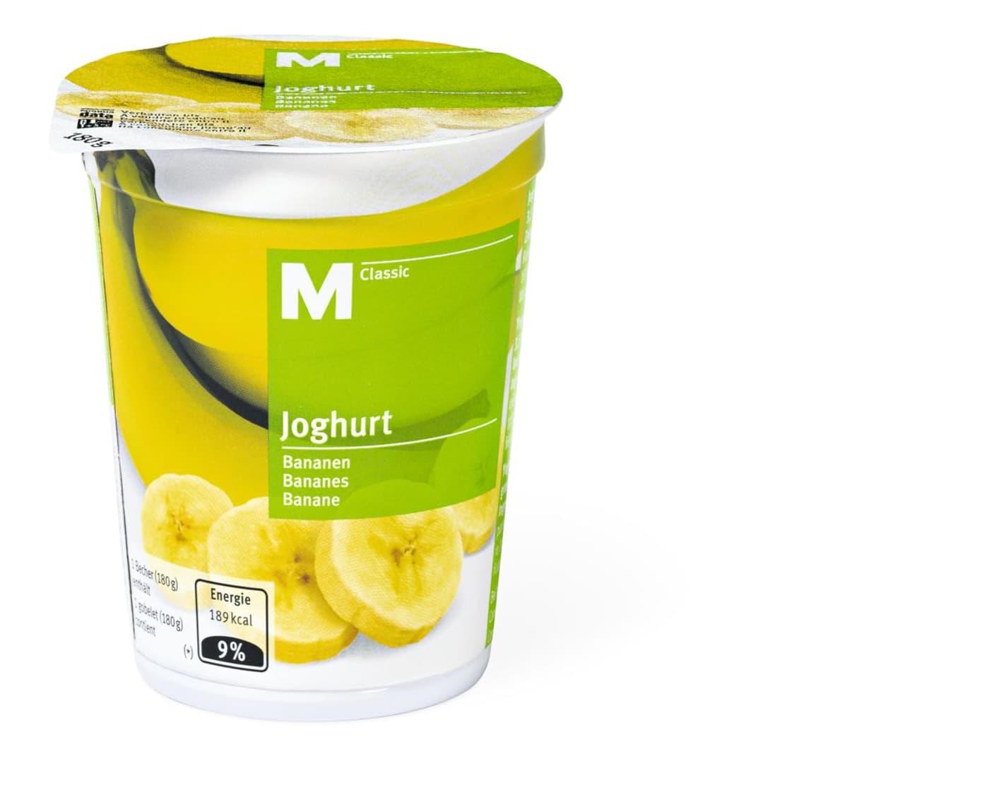 M Classic Joghurt Banane Migros