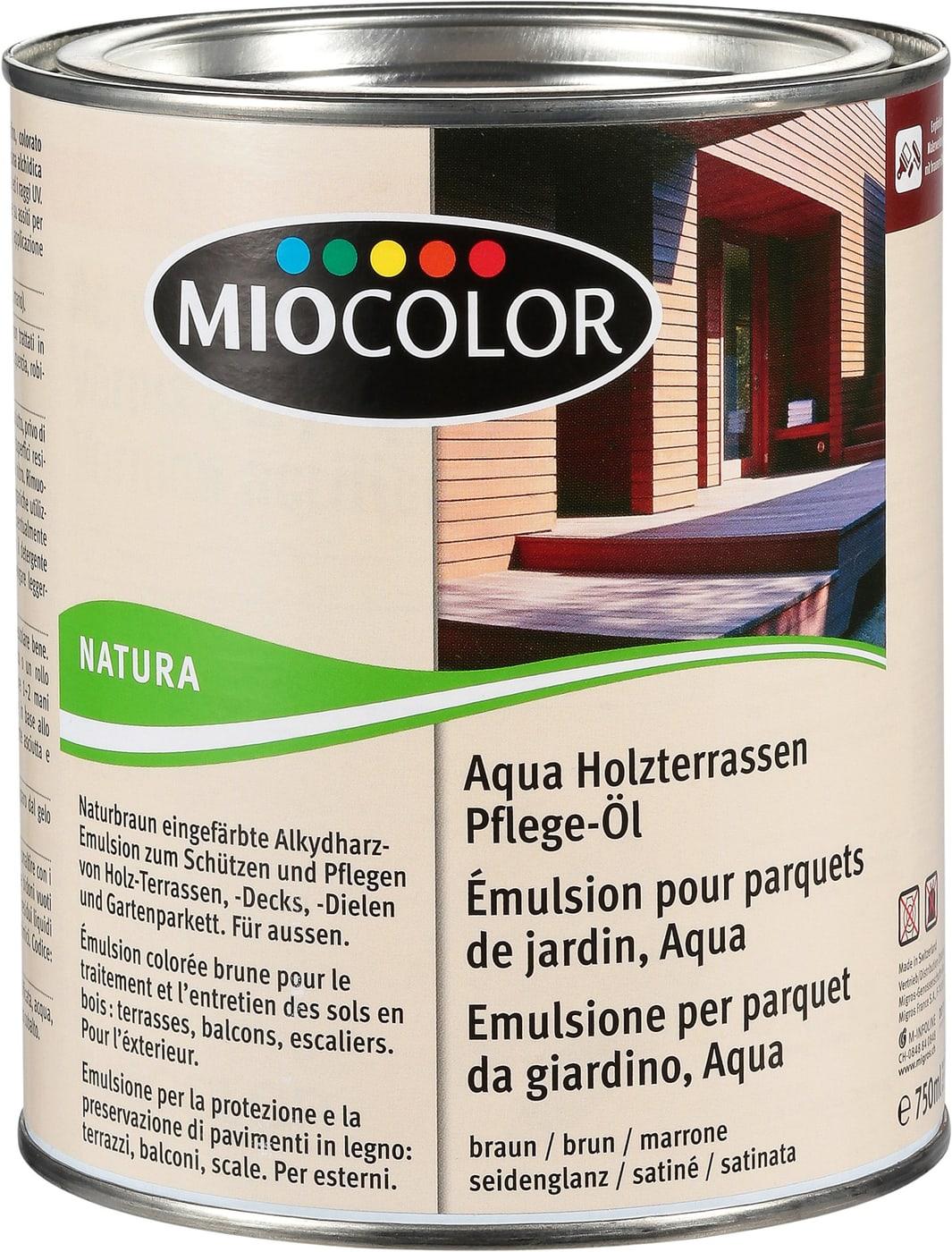 Miocolor Aqua Holzterrassen Pflege Ol Migros