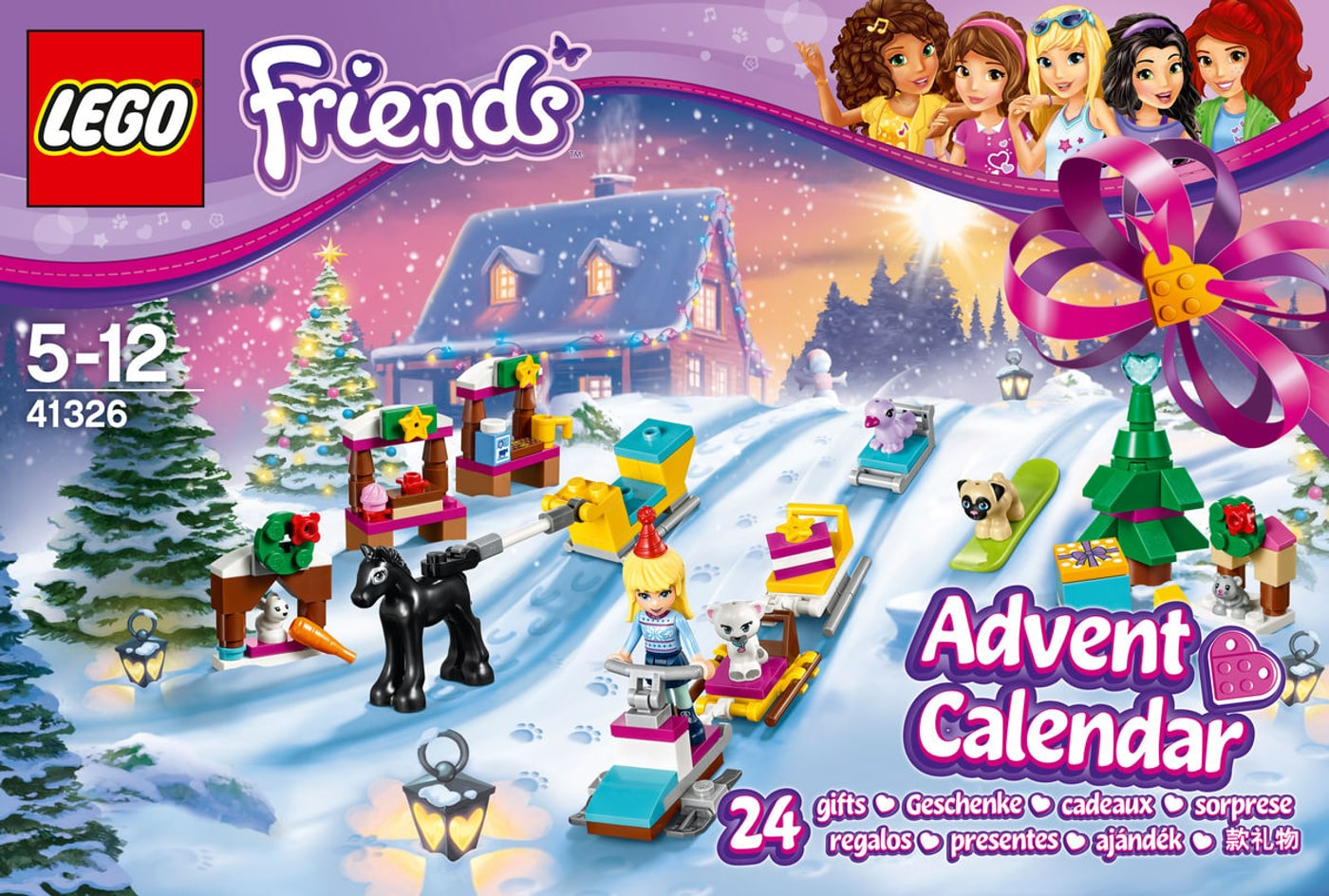 lego friends le calendrier de l 39 avent lego friends 41326 migros. Black Bedroom Furniture Sets. Home Design Ideas
