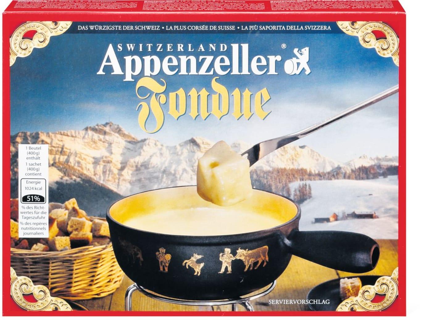 Käsefondue Appenzeller