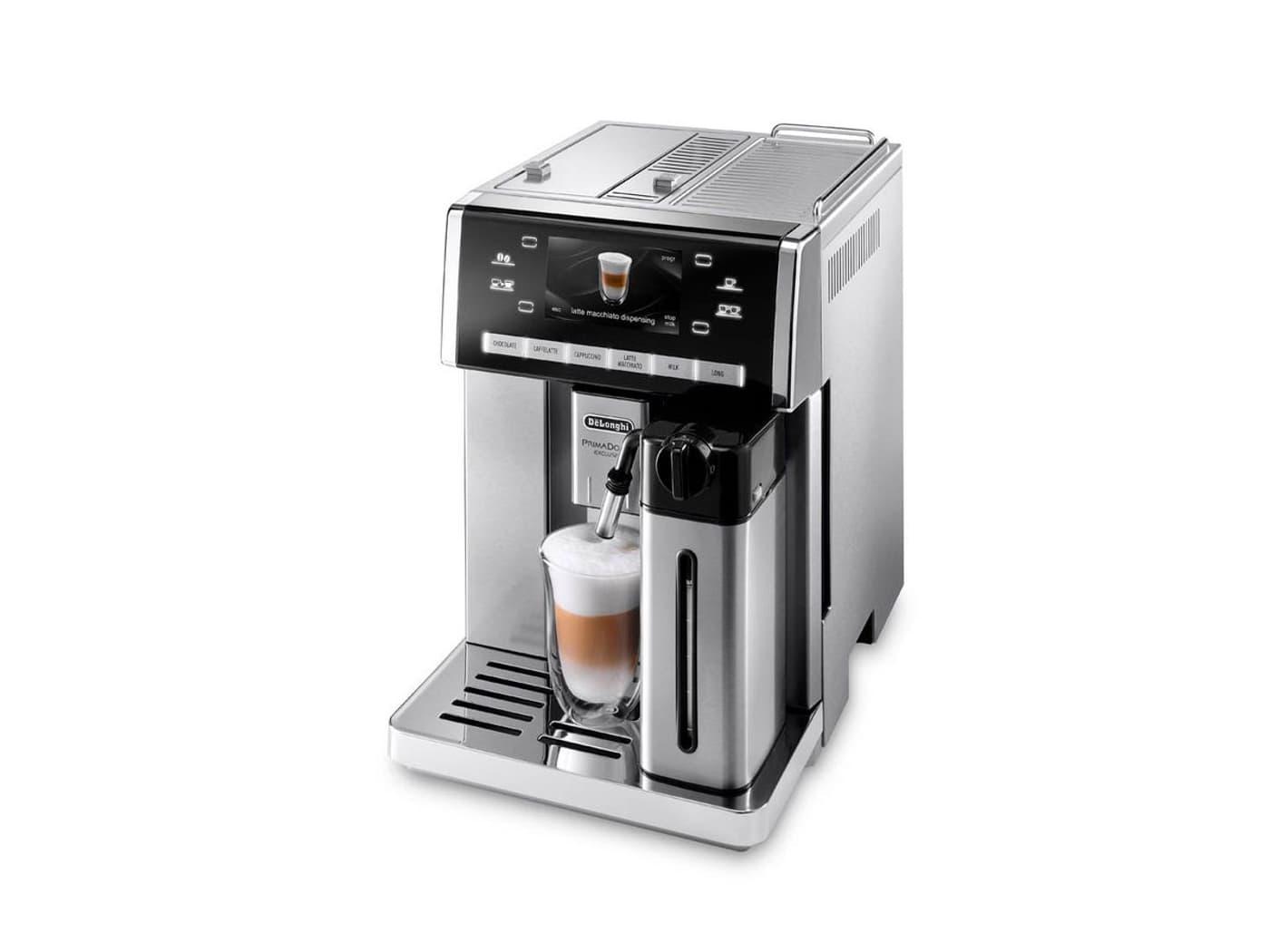 de longhi prima donna 6900 m kaffeevollautomat migros. Black Bedroom Furniture Sets. Home Design Ideas