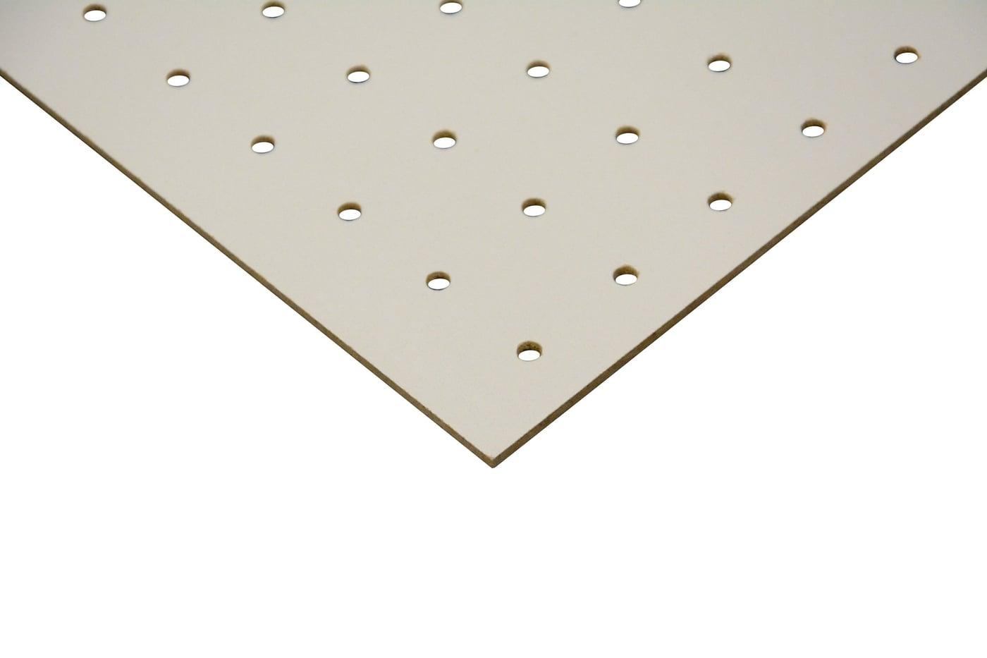 Pannelli Fibra Di Legno pannello di fibra dure bianco forato