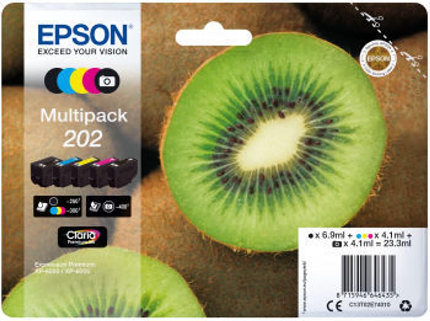 epson 202 multipack encre 5 color migros. Black Bedroom Furniture Sets. Home Design Ideas