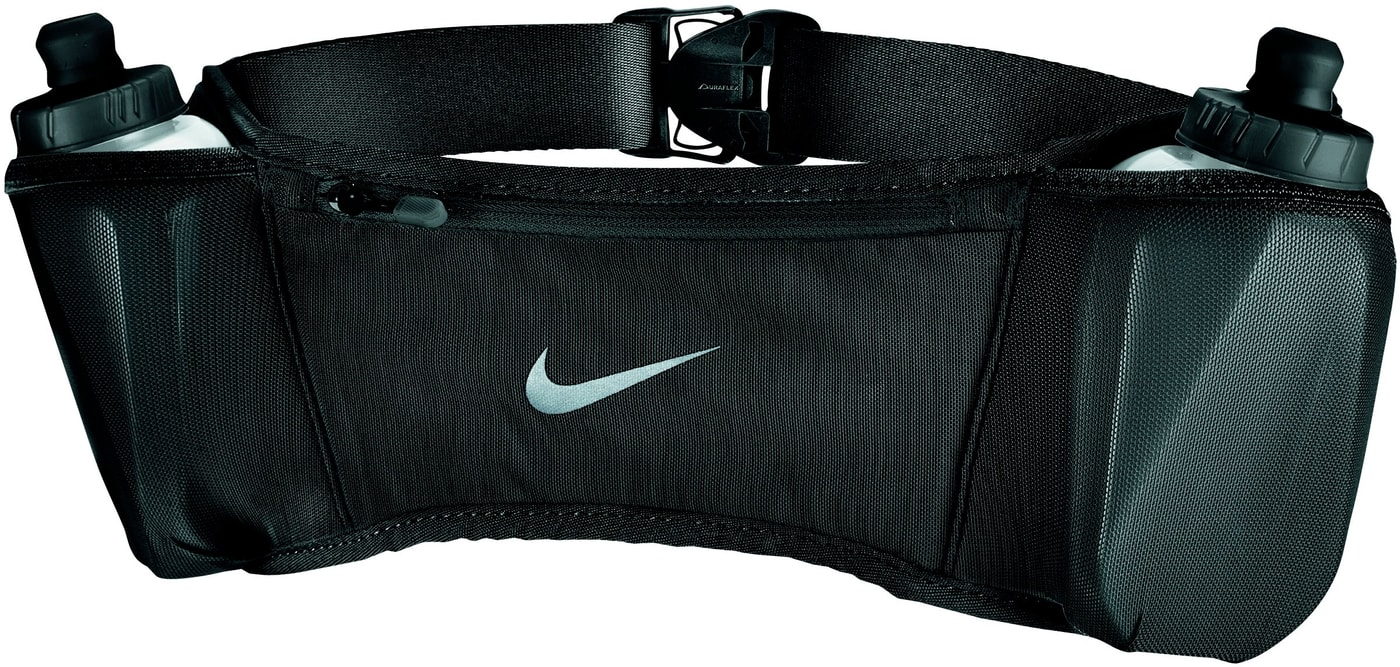 34a3d6f34bde9 Nike Double Pocket Flask Belt 20oz Trink-Gurt