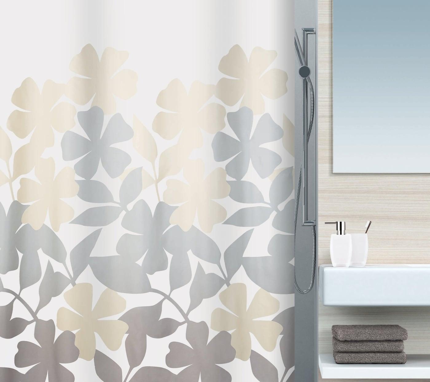 spirella duschvorhang fleury migros. Black Bedroom Furniture Sets. Home Design Ideas