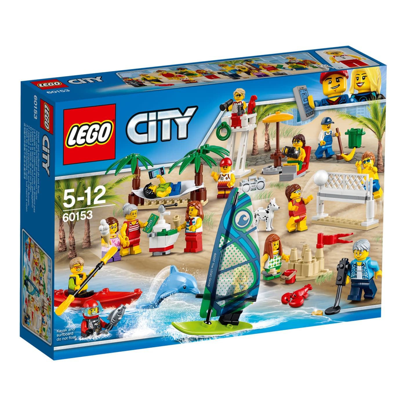 lego city stadtbewohner ein tag am strand 60153 migros. Black Bedroom Furniture Sets. Home Design Ideas