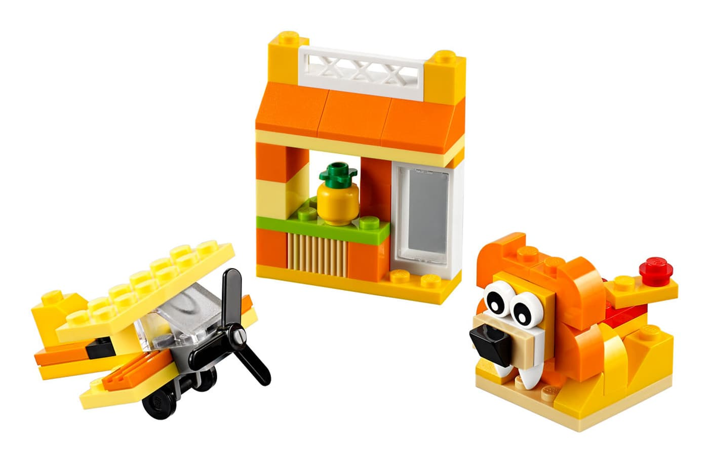 lego classic kreativ box orange 10709 migros. Black Bedroom Furniture Sets. Home Design Ideas