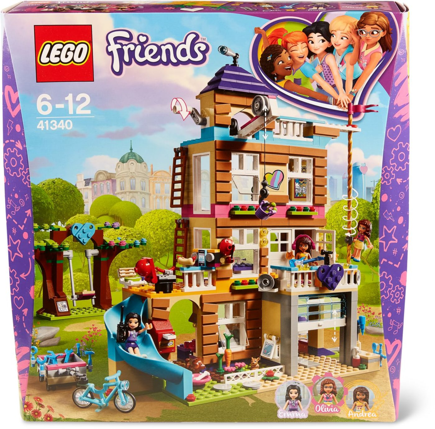 Lego De Maison 41340 L'amitié Friends La by76Yfg