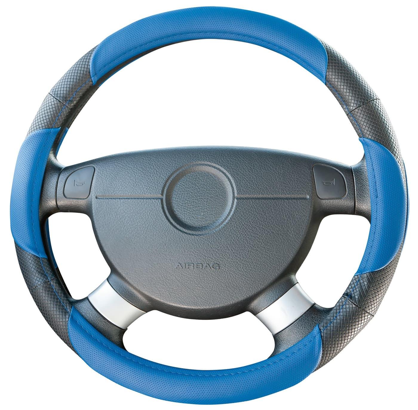 Miocar housse volant sport bleu migros for Housse de volant chauffante