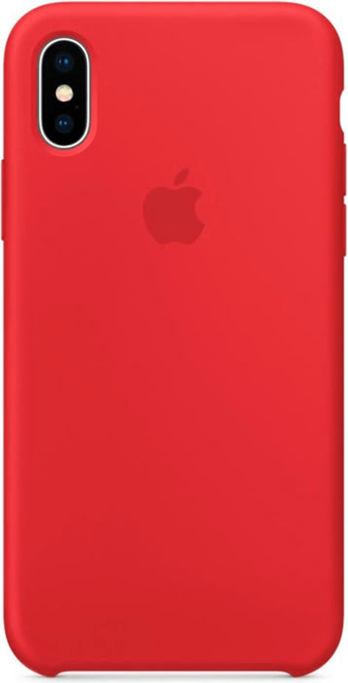 coque iphone x apple red