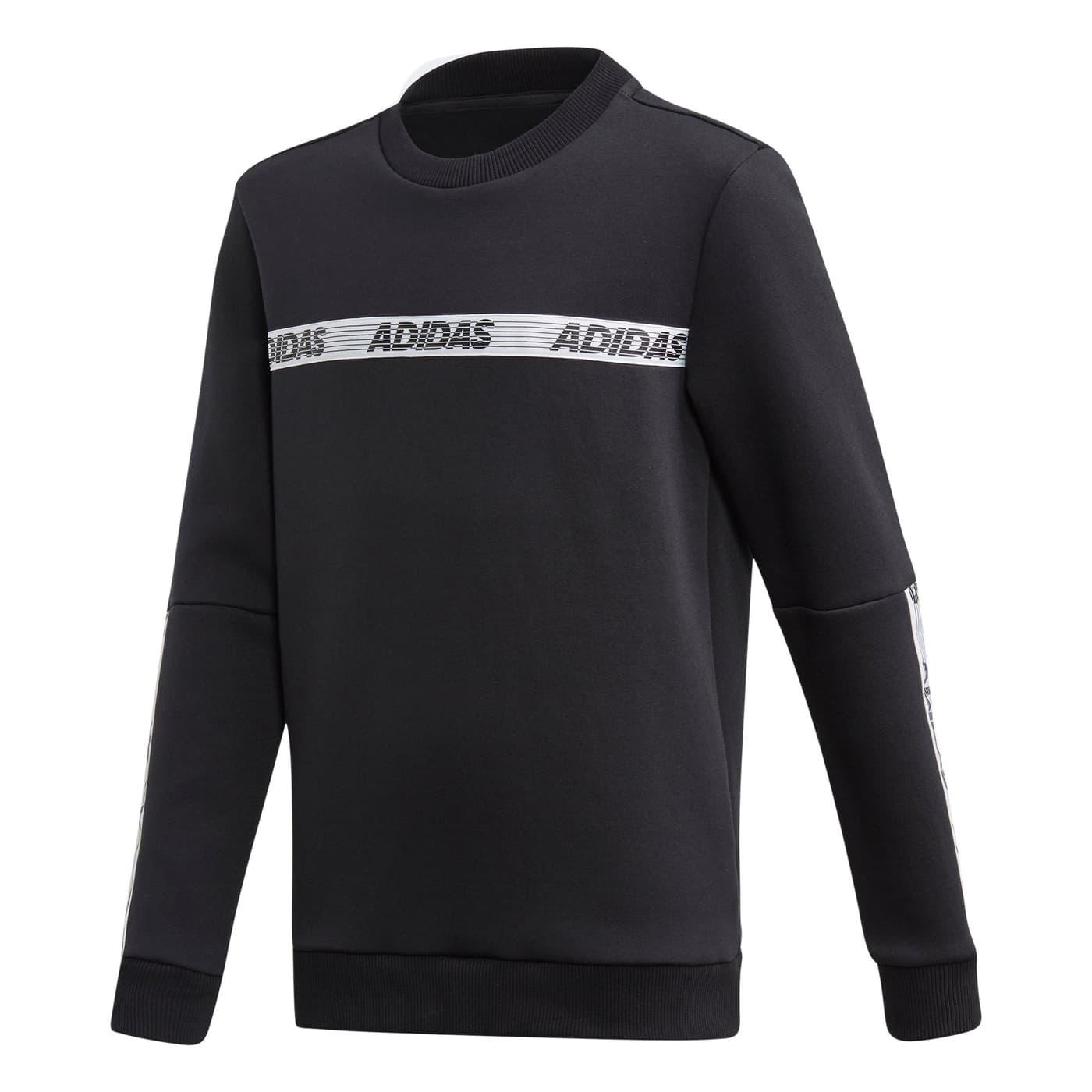 wie man serch Rabatt zum Verkauf online Shop Adidas Sport ID Crew Sweatshirt Kinder-Pullover