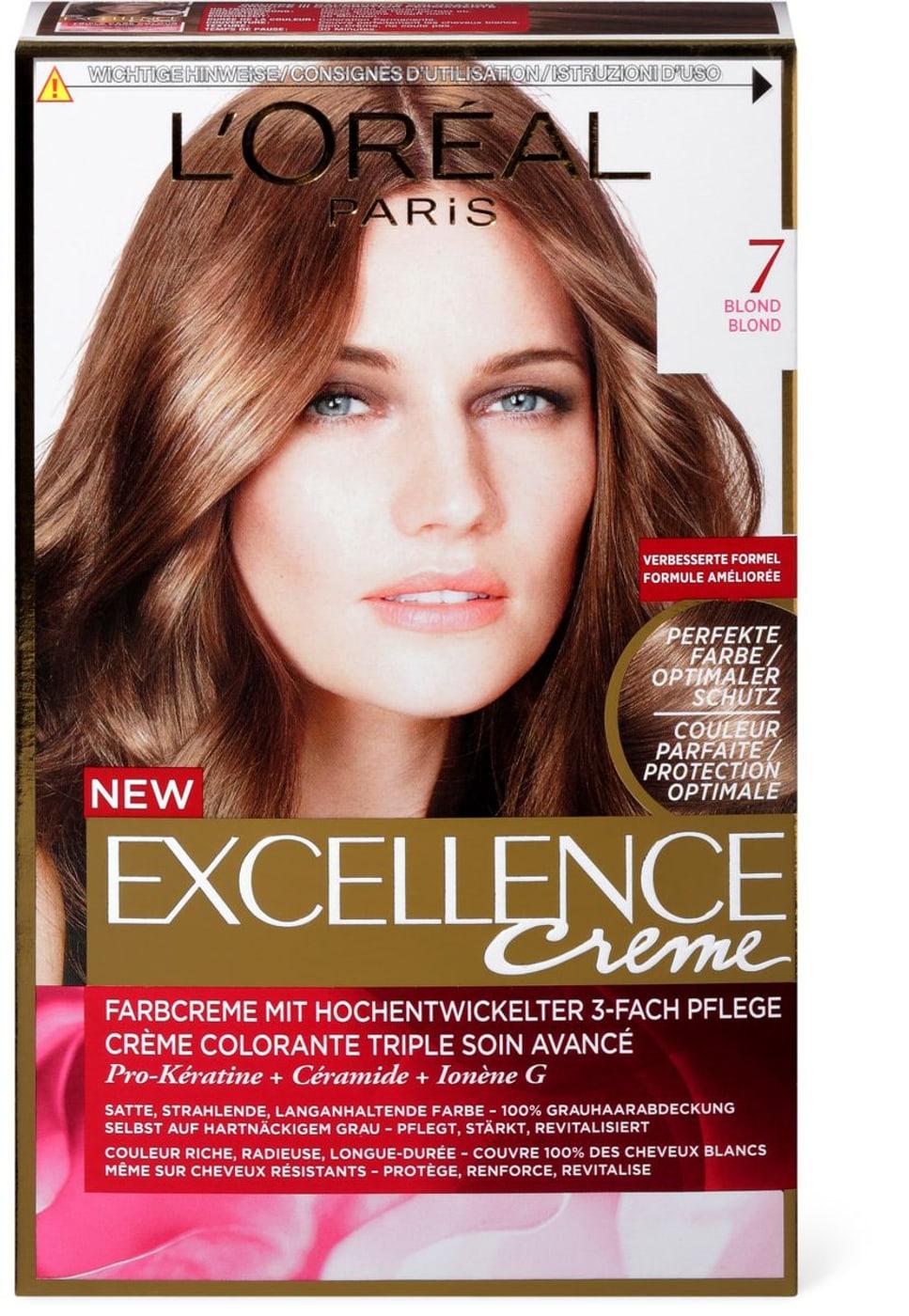 Loréal Excellence Creme 7 Blond Migros