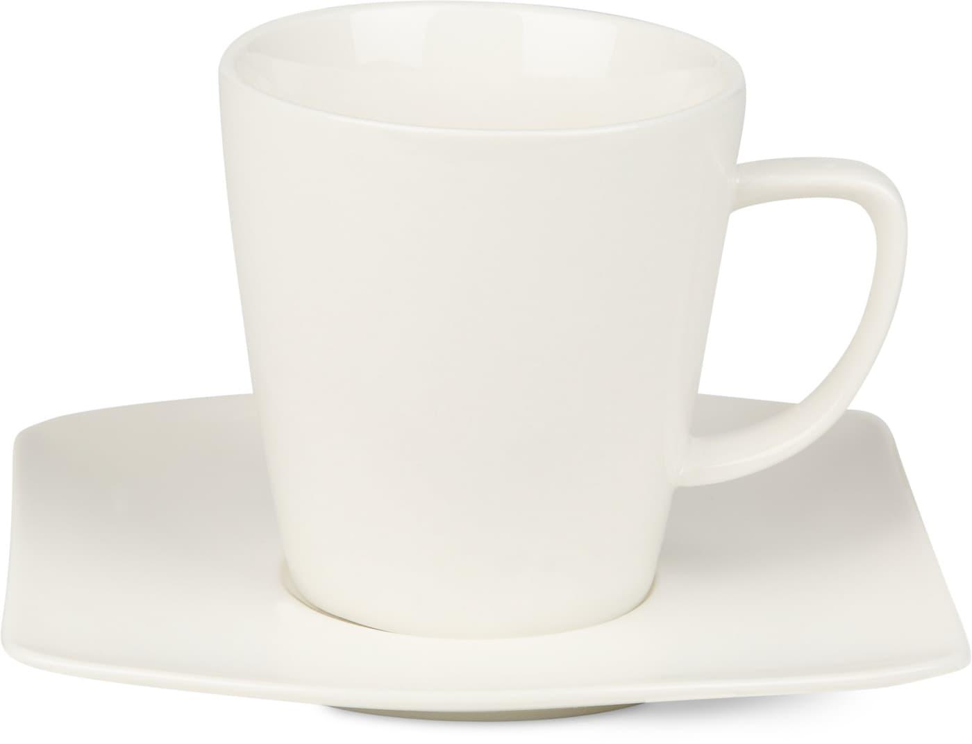 Cucina & Tavola FINE LINE Kaffeetasse mit Unterteller | Migros