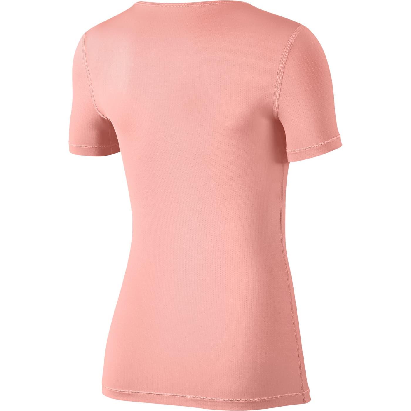 Damen Nike Pro T Top Shirt KJl1cF