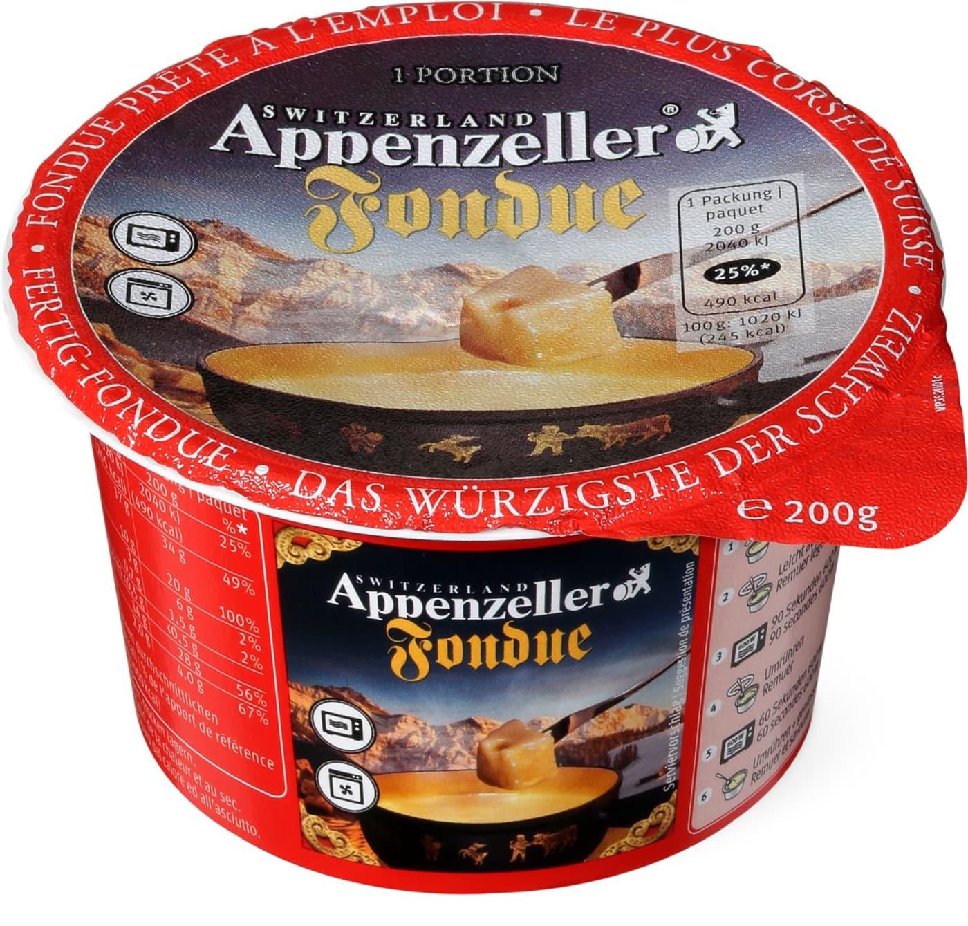 Appenzeller fondue online dating