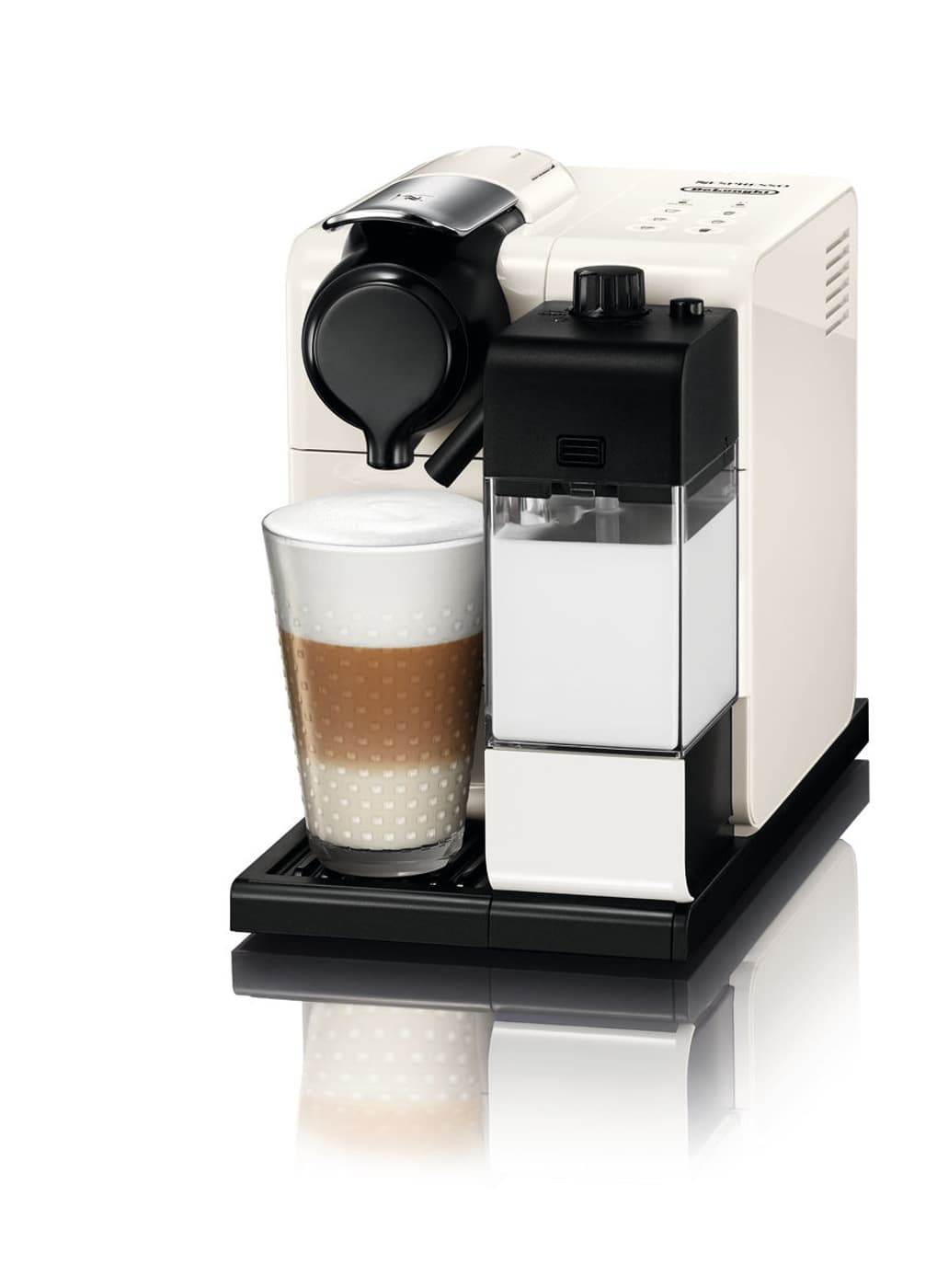nespresso lattissima touch en550 w kapselmaschine glam white migros. Black Bedroom Furniture Sets. Home Design Ideas
