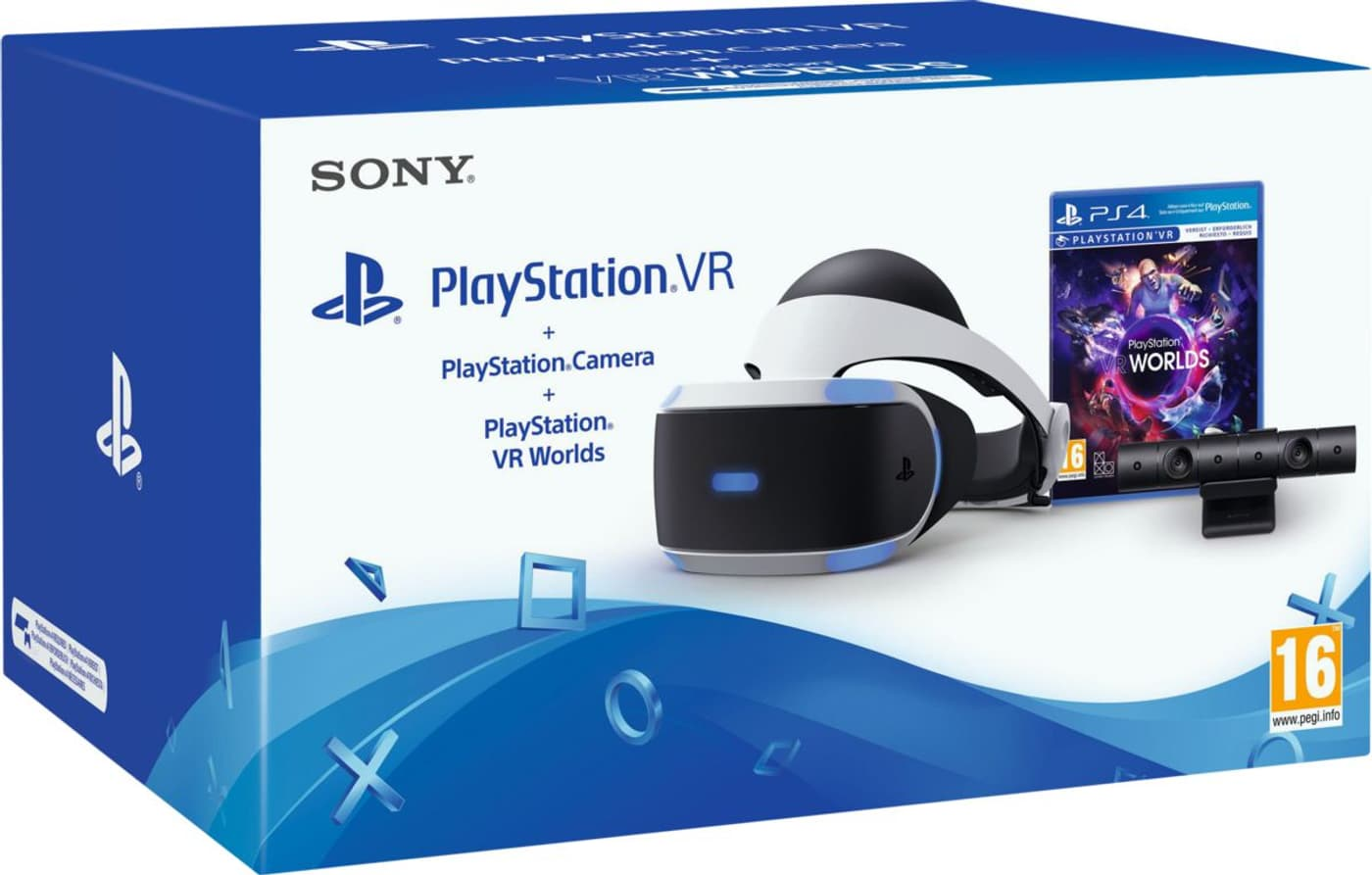 luxe super populaire 2019 real Sony PS4 VR Brille V2 + Camera + VR Worlds Lunettes VR