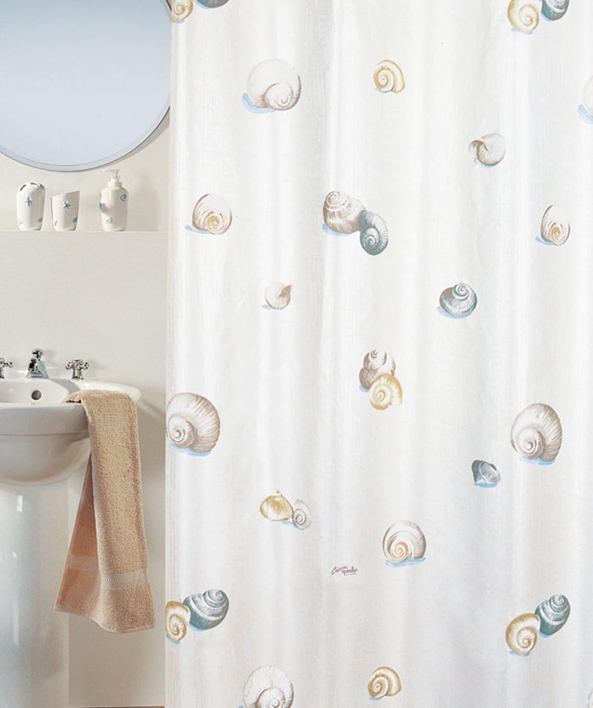 spirella duschvorhang escargot migros. Black Bedroom Furniture Sets. Home Design Ideas