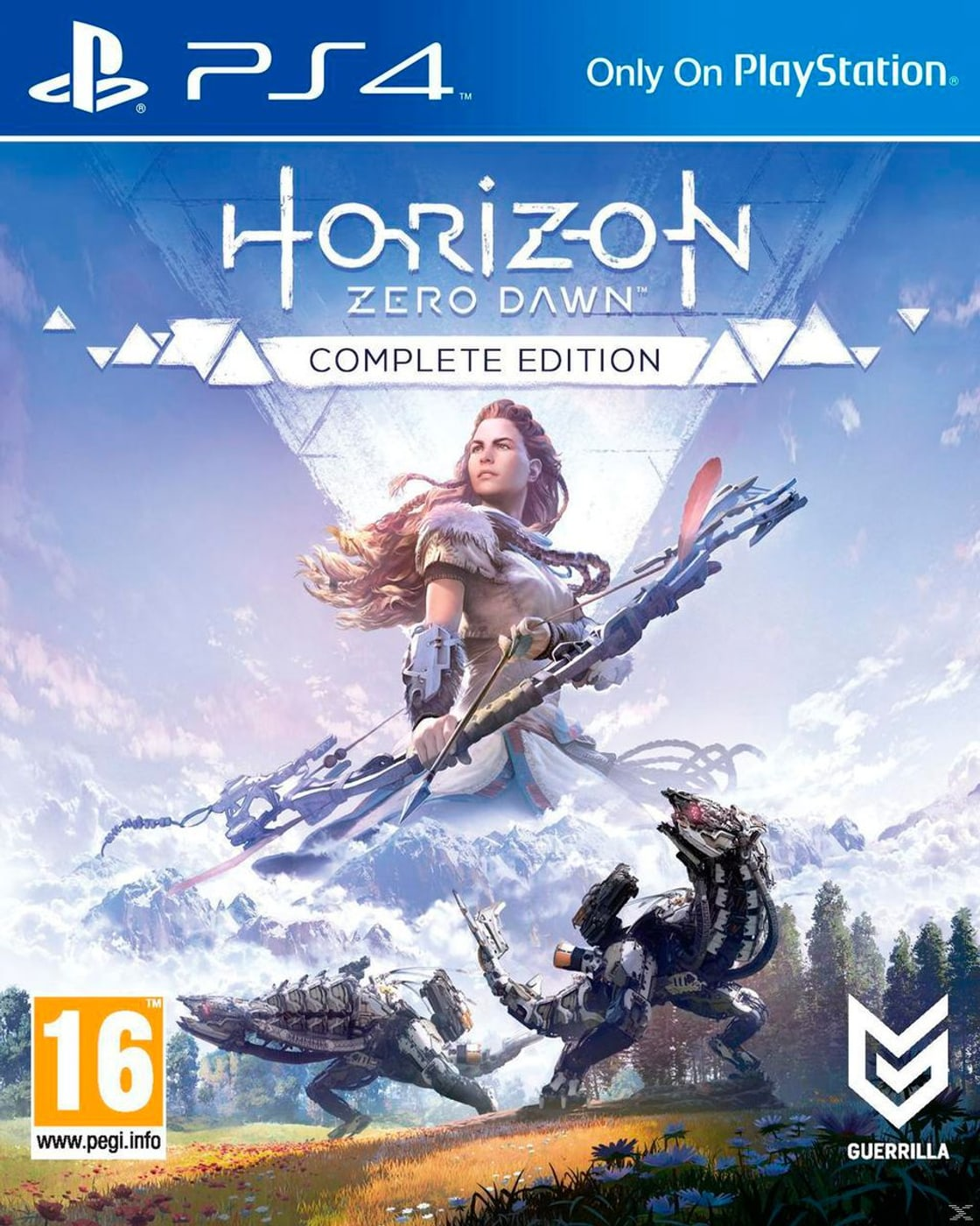 Horizon Zero Dawn Karte Ruinen.Ps4 Horizon Zero Dawn Complete Edition Box