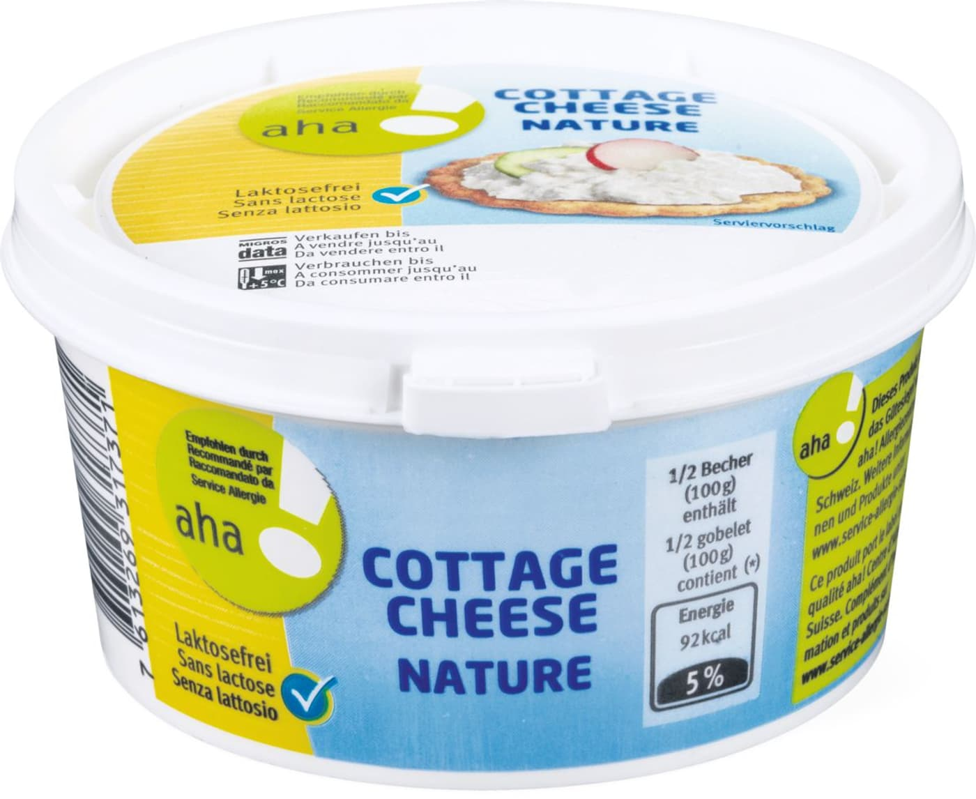 Cottage Cheese Aha