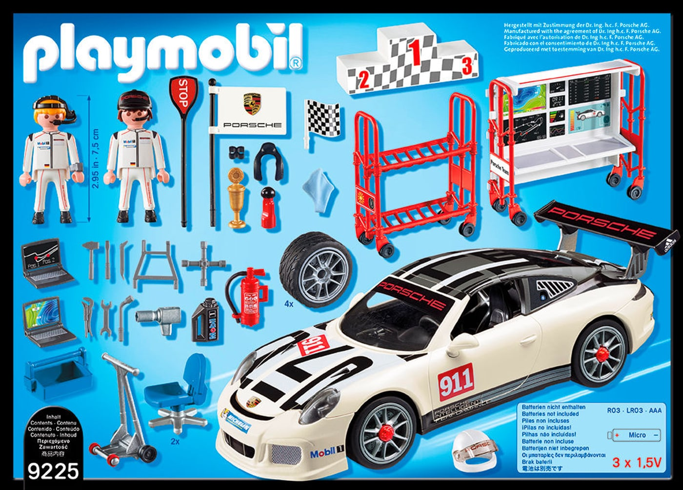 playmobil sports action porsche 911 gt3 cup 9225 migros. Black Bedroom Furniture Sets. Home Design Ideas