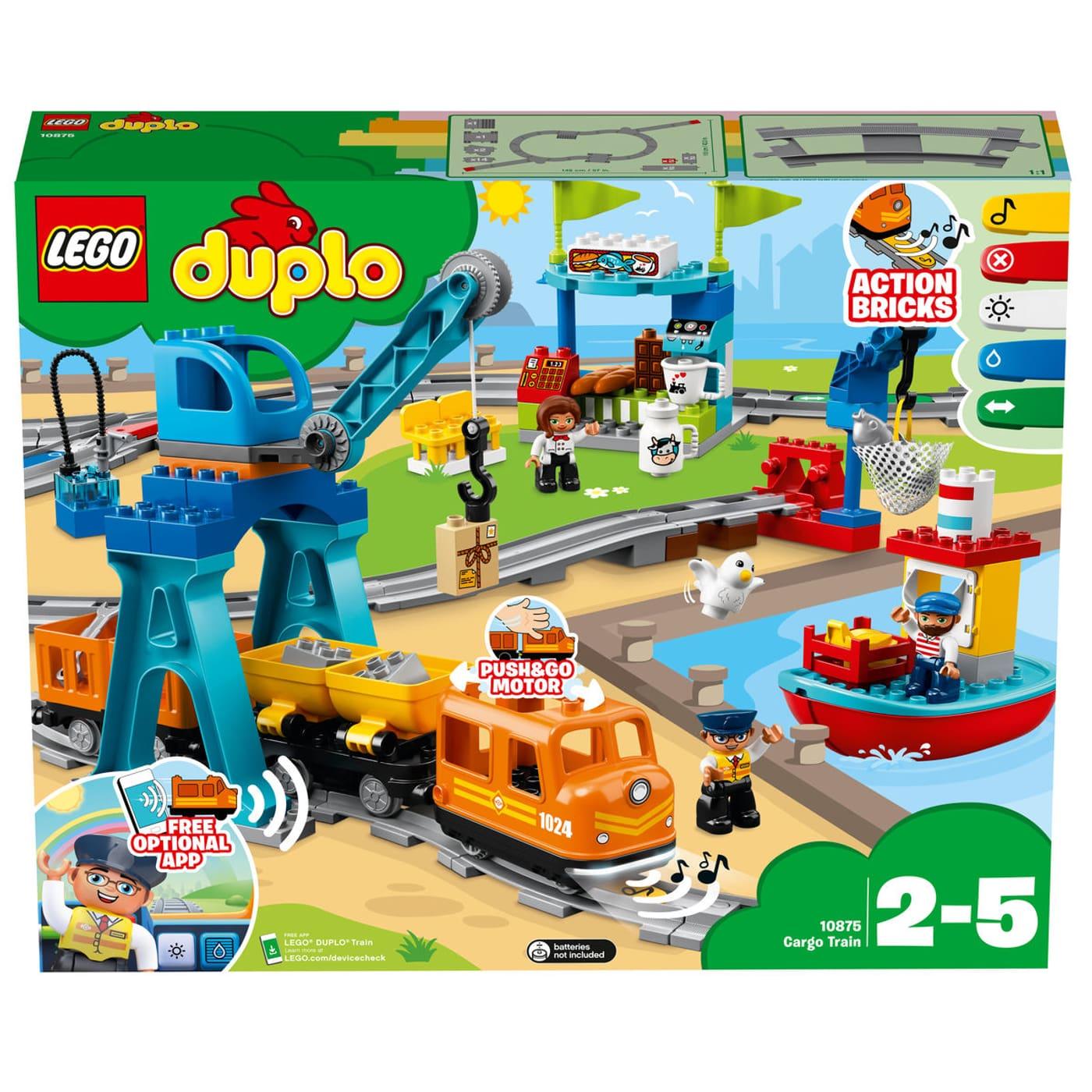 Calendrier Avent Duplo.Lego Duplo Le Train De Marchandises 10875