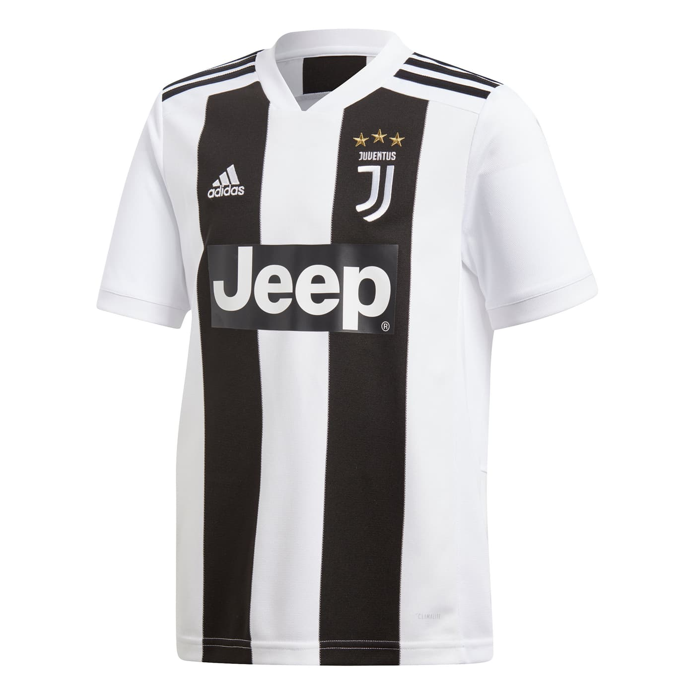 e3b46ea7372c8 Adidas 18/19 JUVENTUS HOME JERSEY YOUTH T-shirt de football pour enfant ...