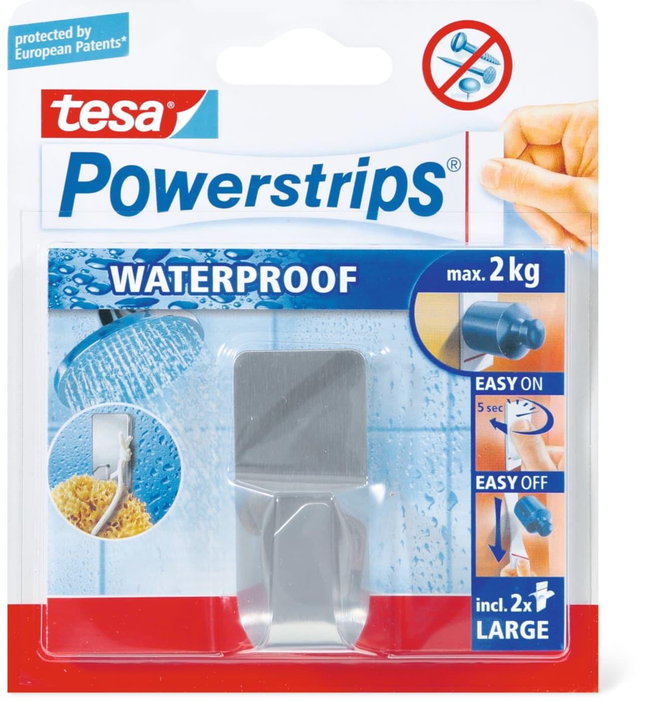 Tesa Powerstrips Waterproof Haken Migros