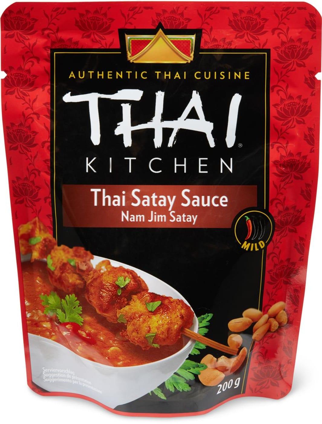 Thai Kitchen Satay Sauce Migros