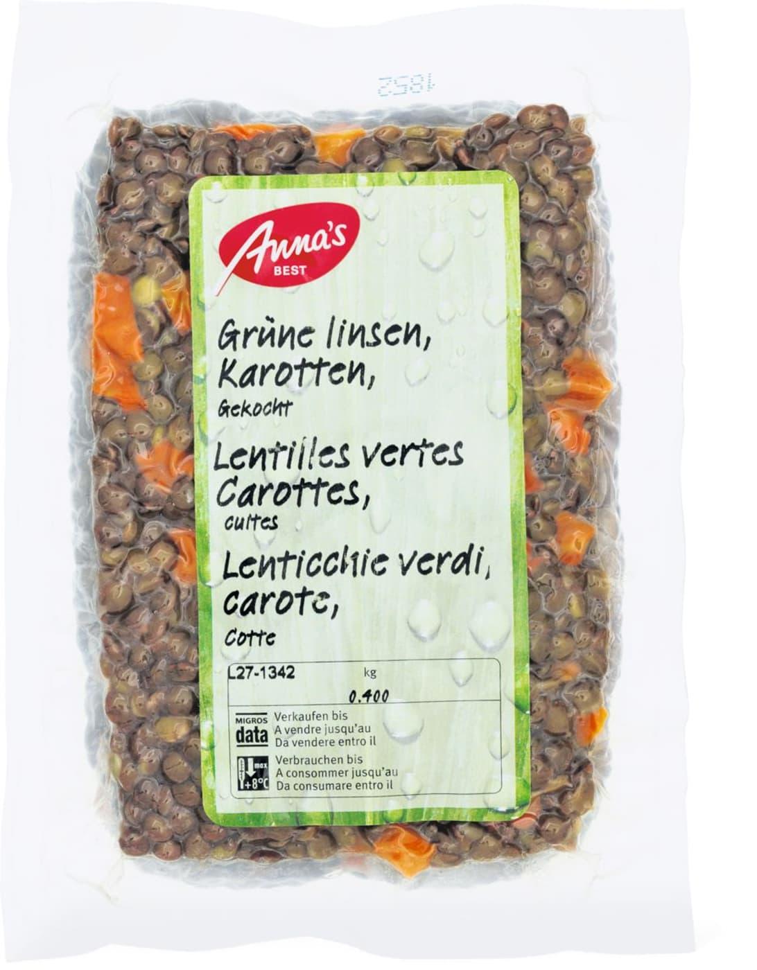Anna\'s Best Grüne Linsen gekocht | Migros