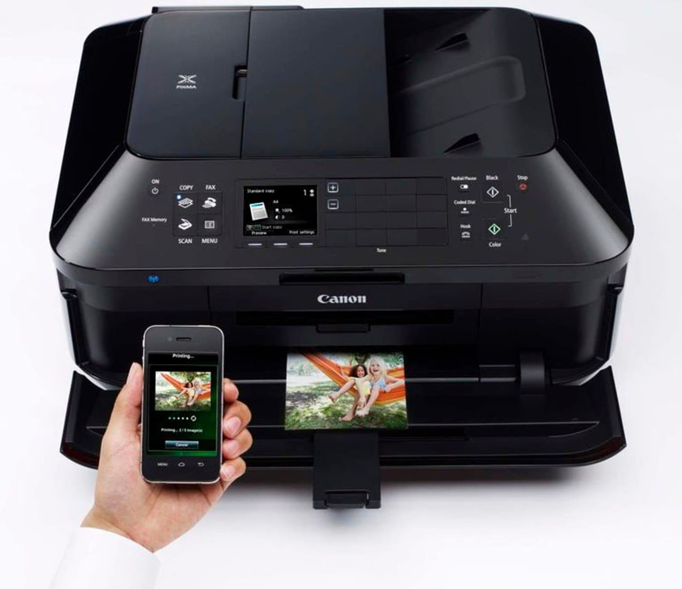 canon pixma mx925 drucker scanner kopierer fax migros. Black Bedroom Furniture Sets. Home Design Ideas