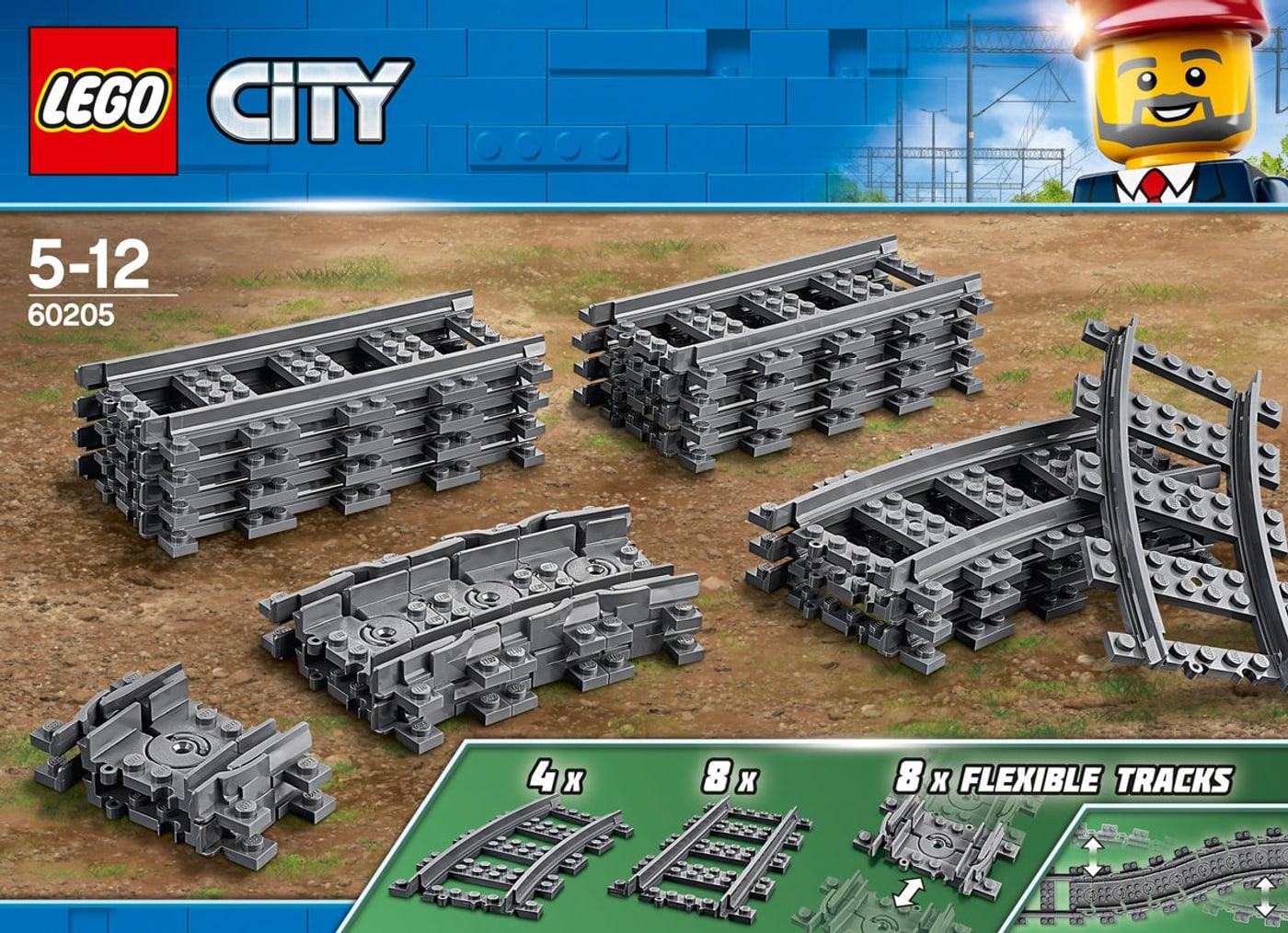 60205 City Virages MigrosLego Rails Et rBWQxodCe