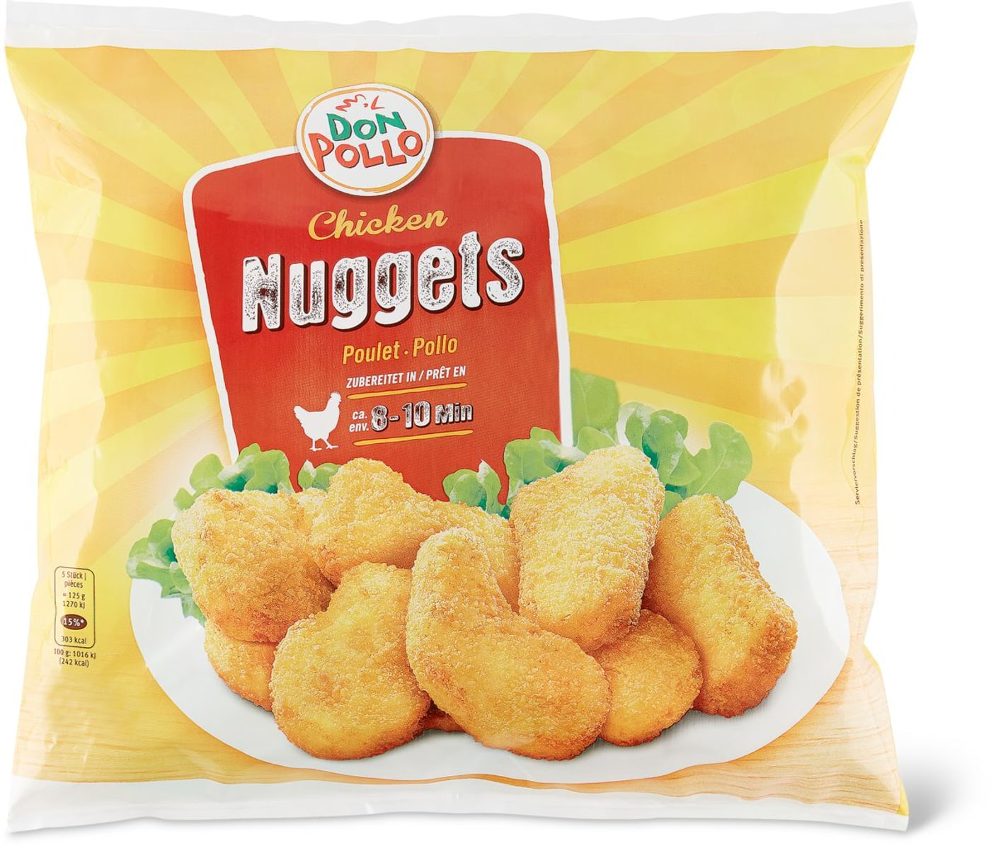 Nuggets Kcal: Don Pollo Chicken Nuggets