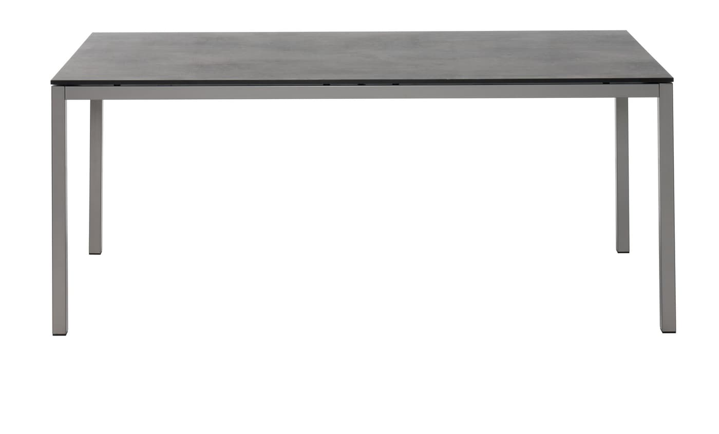 tisch locarno mit hpl platte oxido terra 140 cm migros. Black Bedroom Furniture Sets. Home Design Ideas