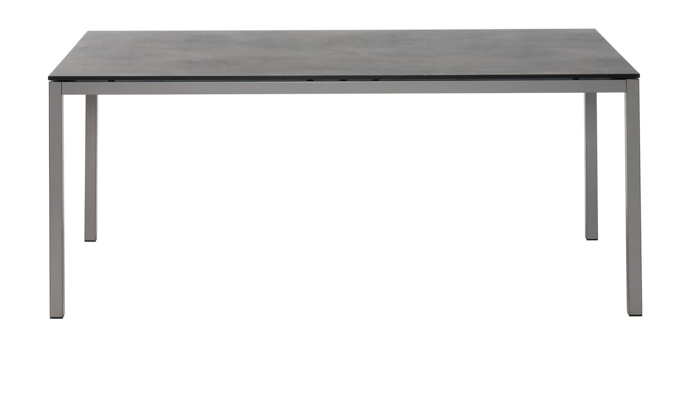 tisch locarno mit hpl platte oxido terra 220 cm migros. Black Bedroom Furniture Sets. Home Design Ideas
