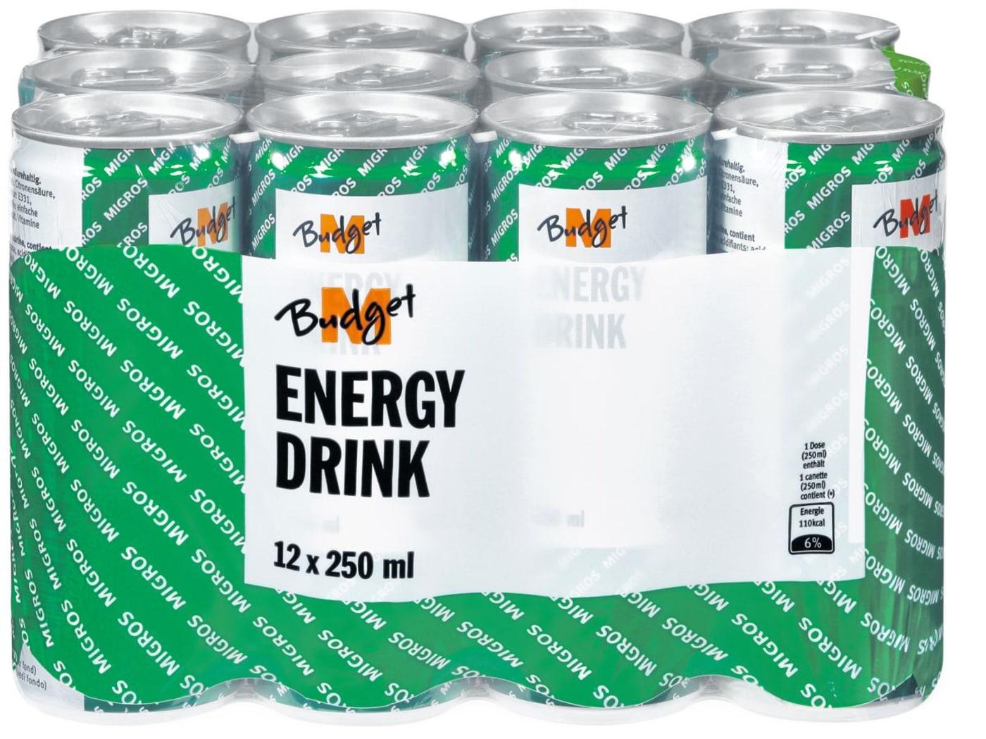 M-Budget Energy Drink | Migros