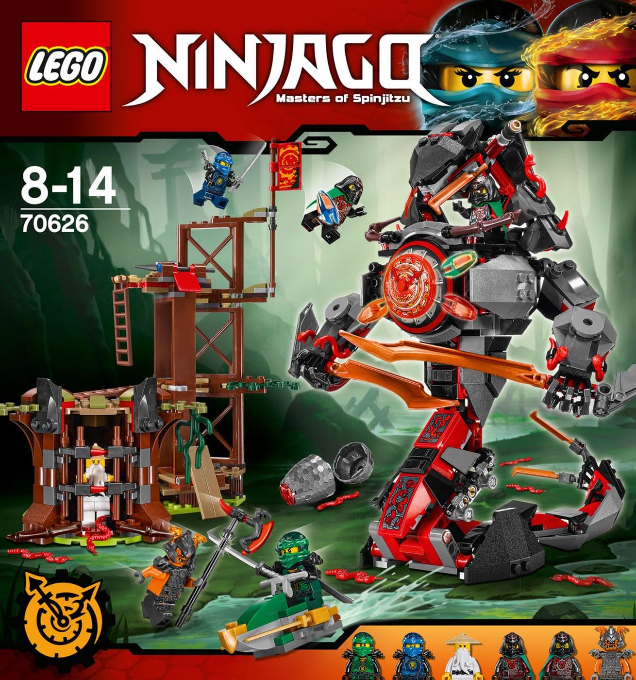 lego ninjago verh ngnisvolle d mmerung 70626 migros. Black Bedroom Furniture Sets. Home Design Ideas