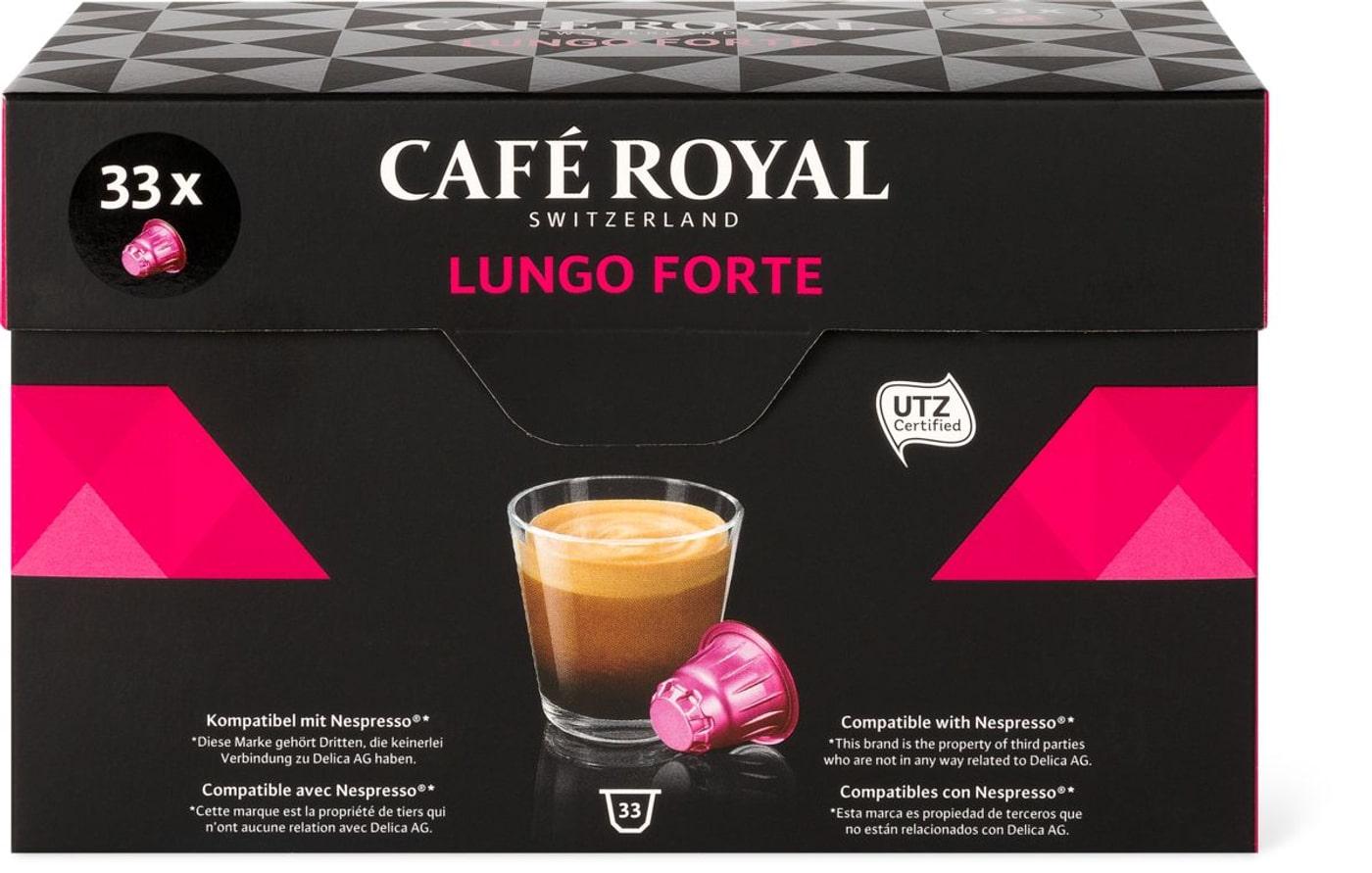 Café Royal Lungo Forte 33 Kapseln   Migros