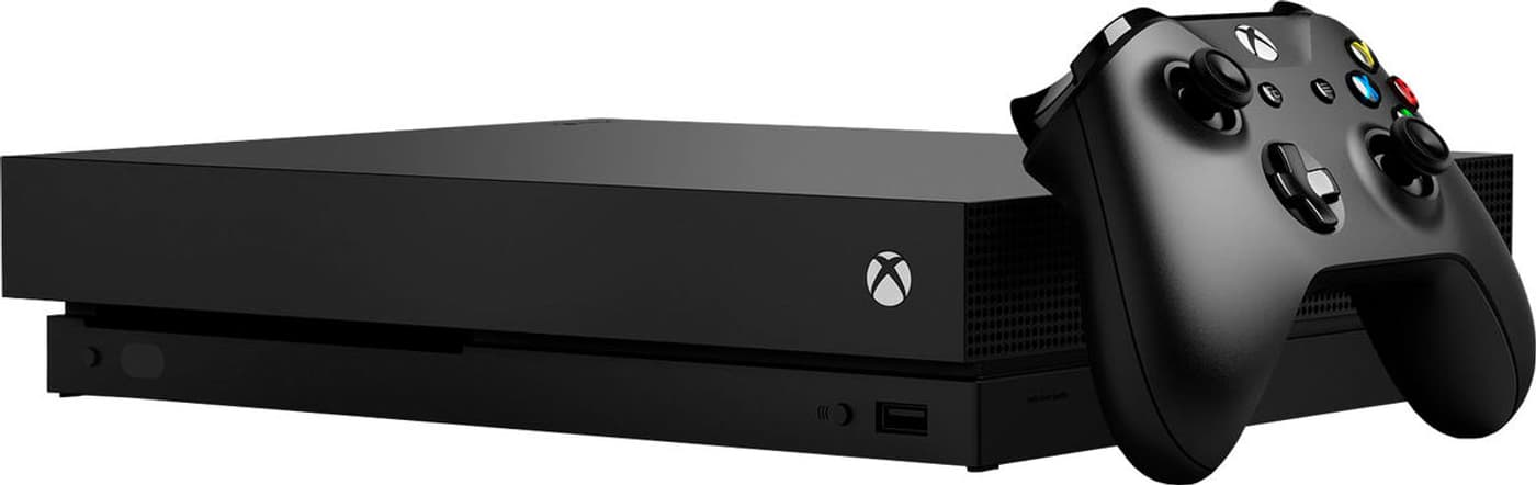 microsoft xbox one x konsole 1tb migros. Black Bedroom Furniture Sets. Home Design Ideas