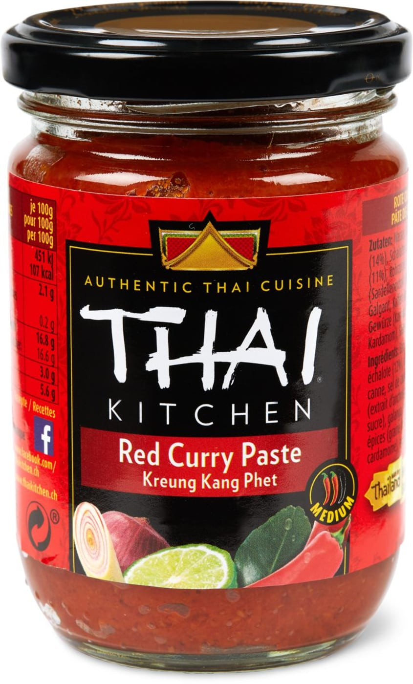 thai kitchen rote curry paste migros. Black Bedroom Furniture Sets. Home Design Ideas