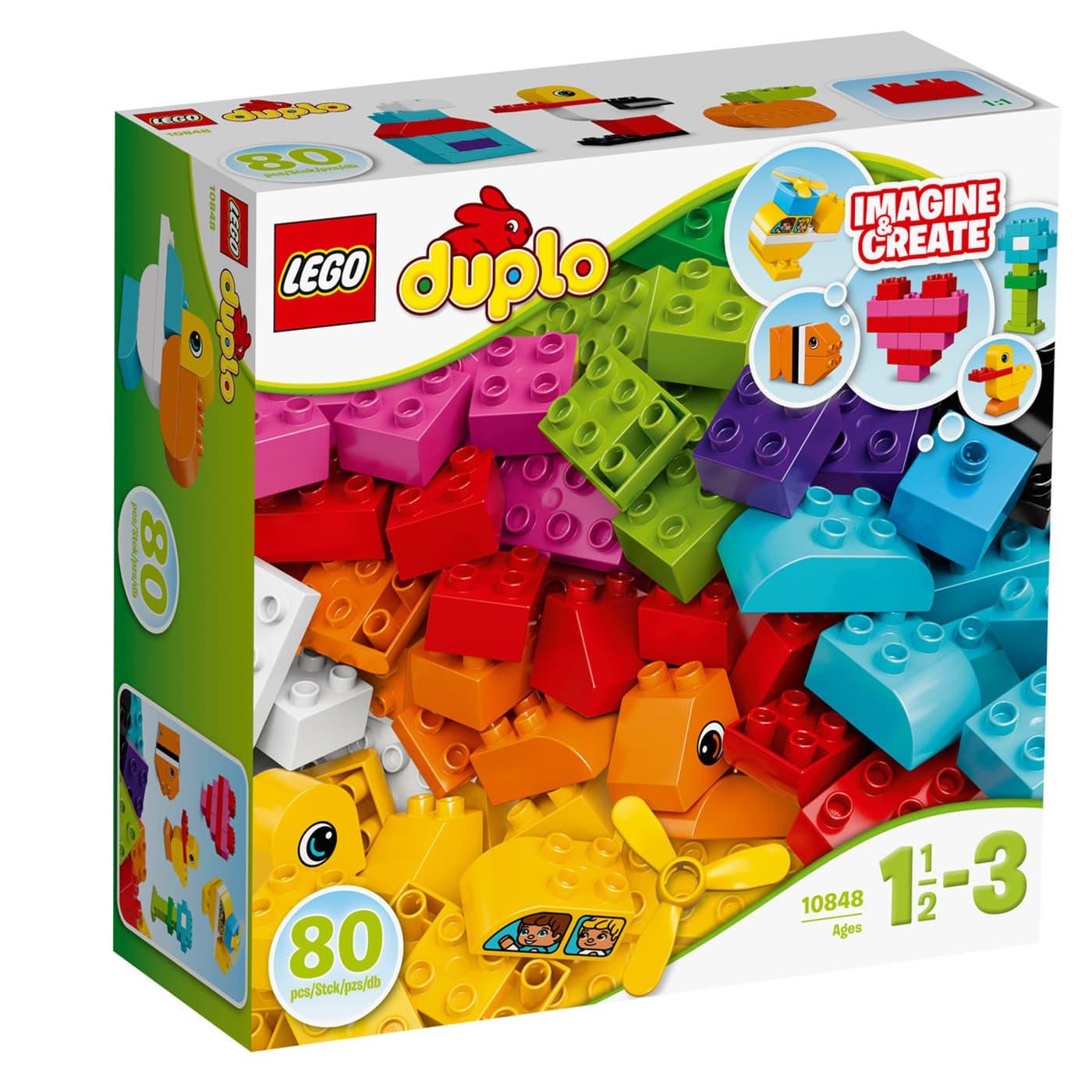 Calendrier Avent Duplo.Lego Duplo Mes Premieres Briques 10848