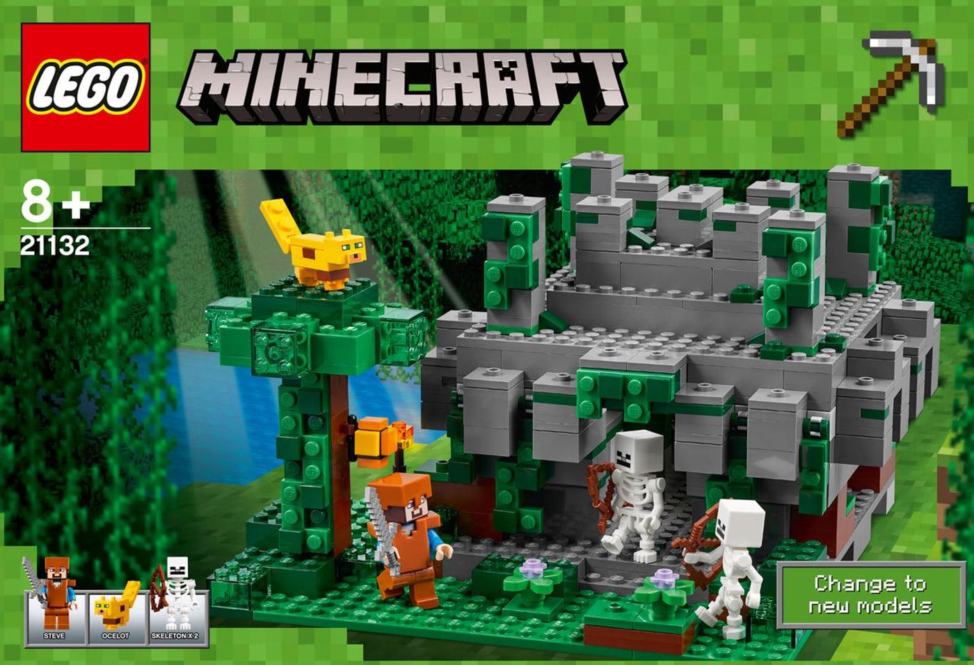 Lego Minecraft Der Dschungeltempel 21132 | Migros