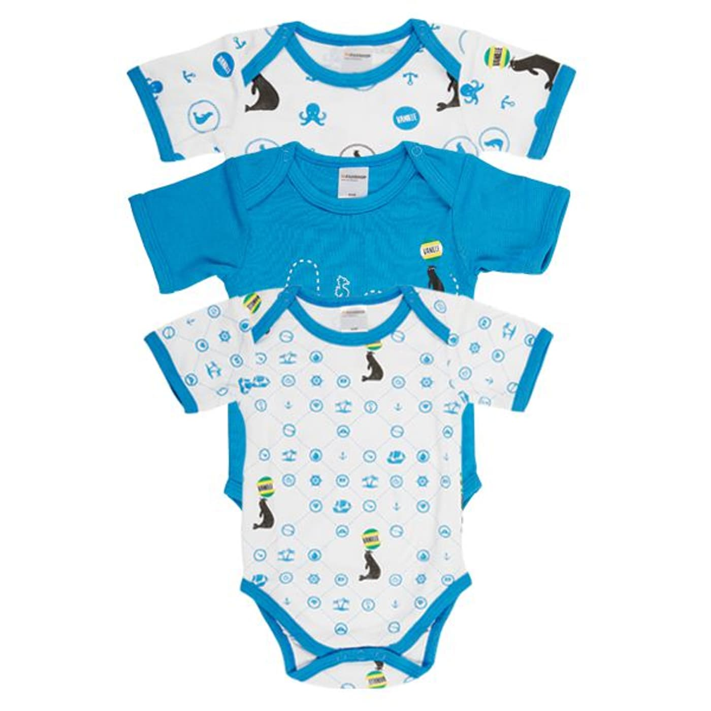 vanilleglace baby bodys 3er set kurz migros. Black Bedroom Furniture Sets. Home Design Ideas