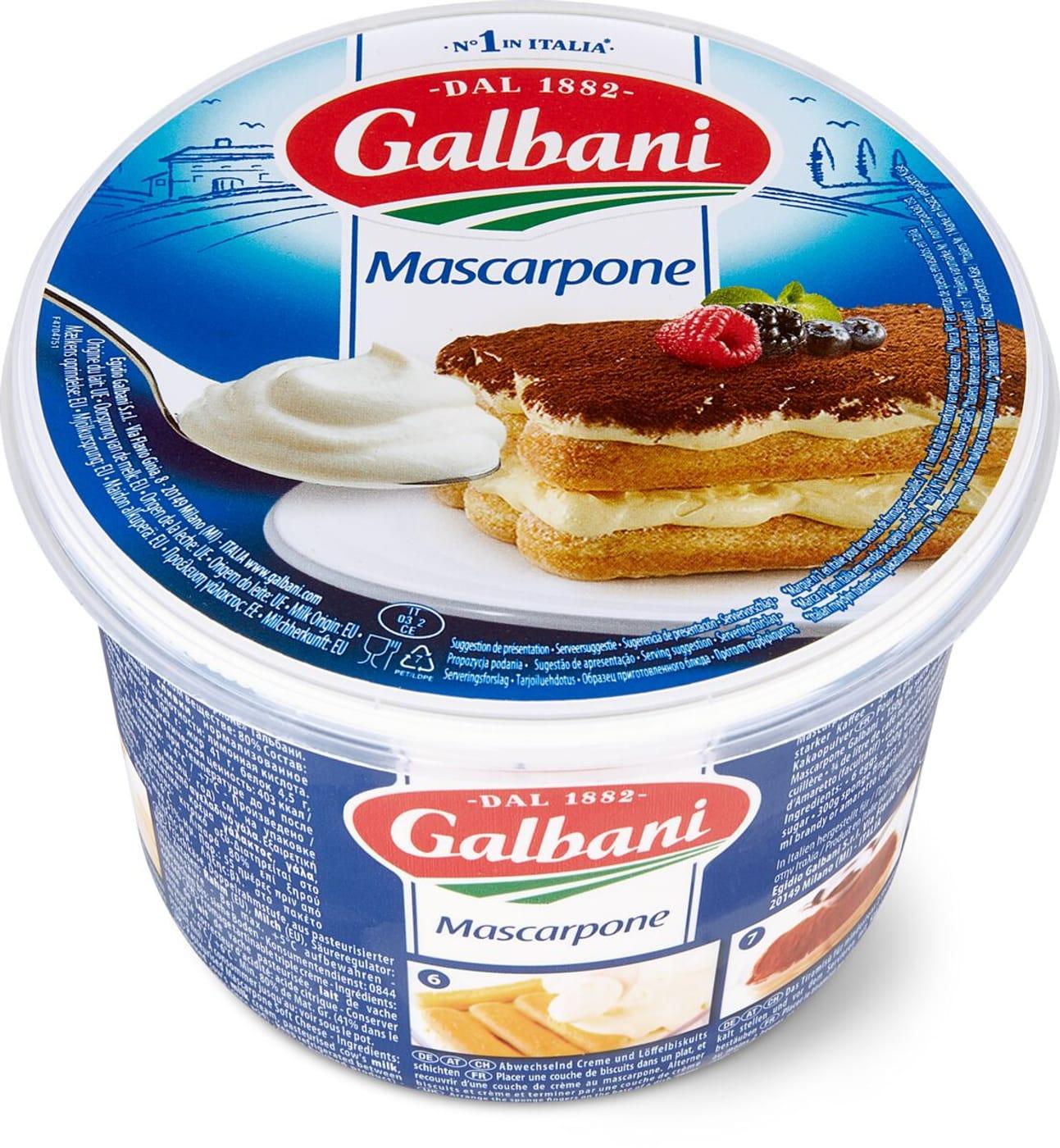 Tiramisu Alle Fragole Ricetta Galbani.Galbani Mascarpone Migros