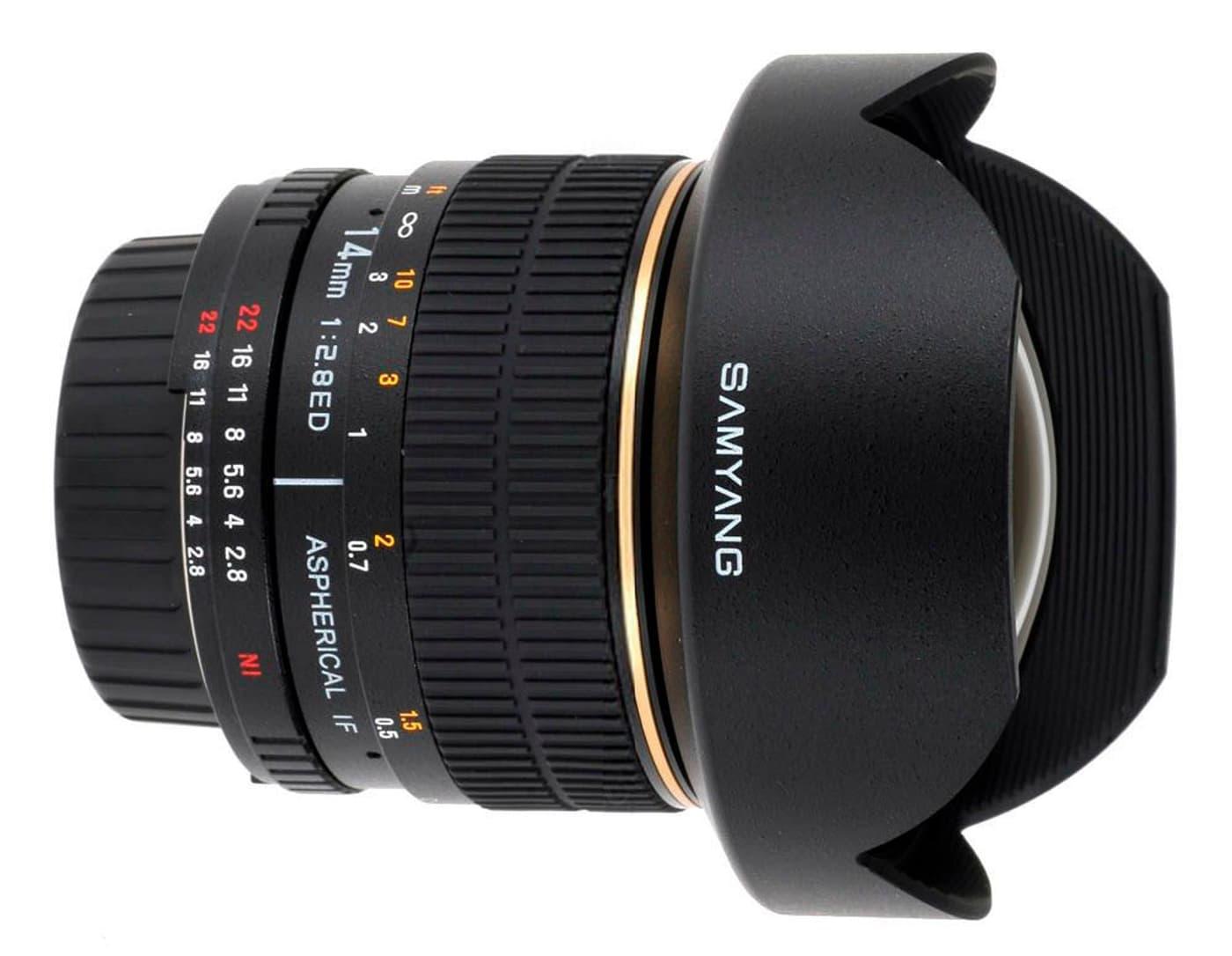 Samyang 14mm / 2.8 IF ED UMC Aspherical (Nikon) Objektiv | Migros