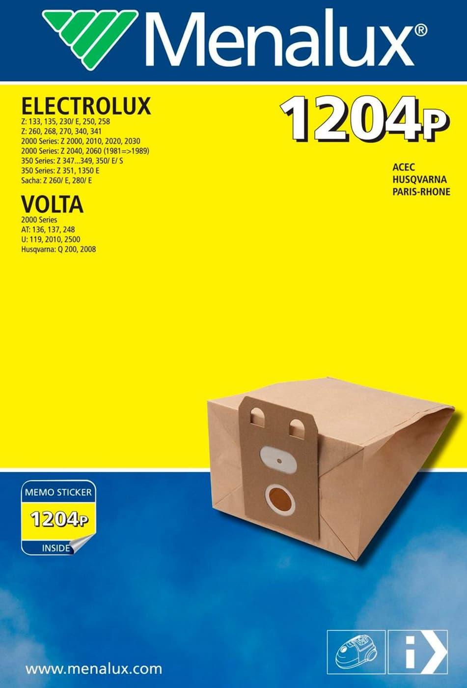 Menalux 1204P Staubsauger-Staubbeutel | Migros